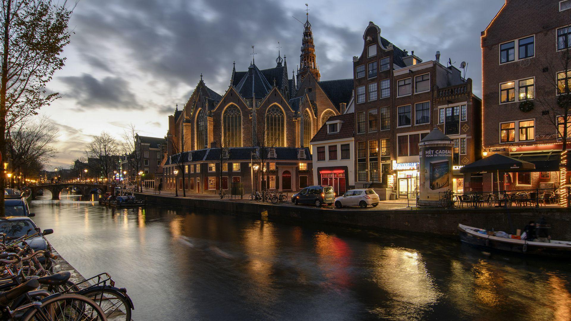 Amsterdam screen wallpaper