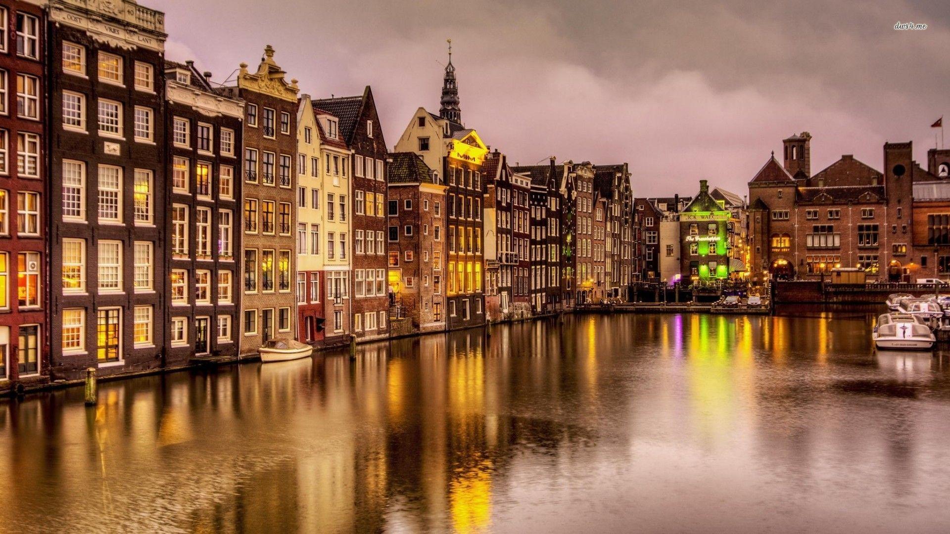 Amsterdam PC Wallpaper