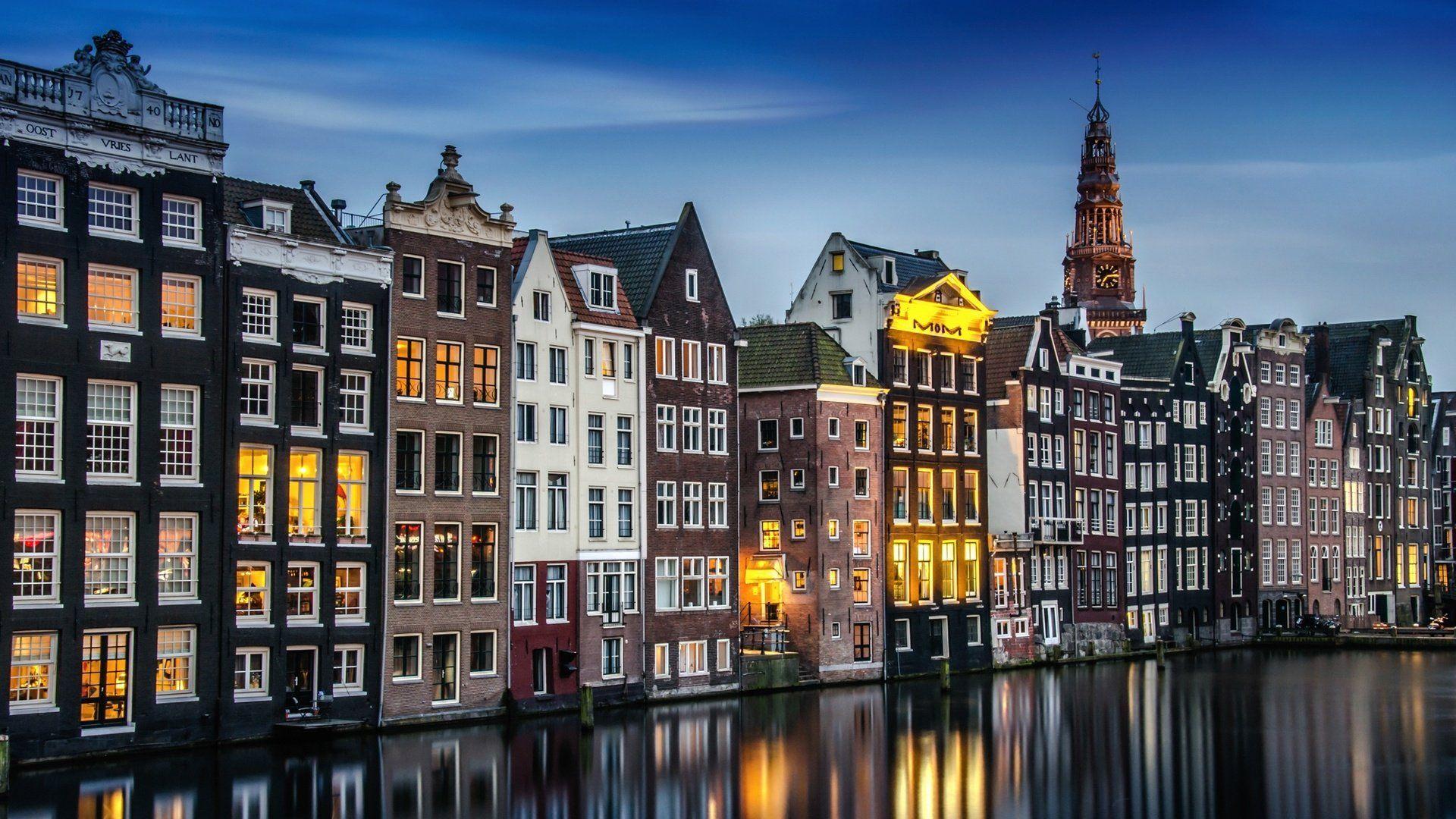 Amsterdam Background Wallpaper