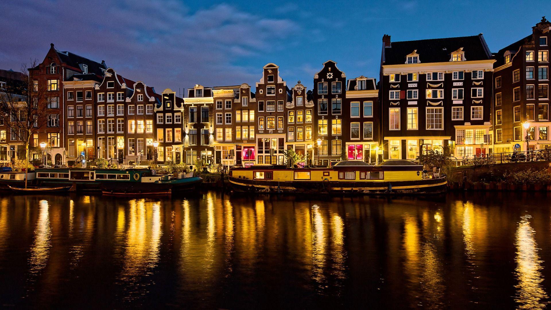 Amsterdam Cool HD Wallpaper