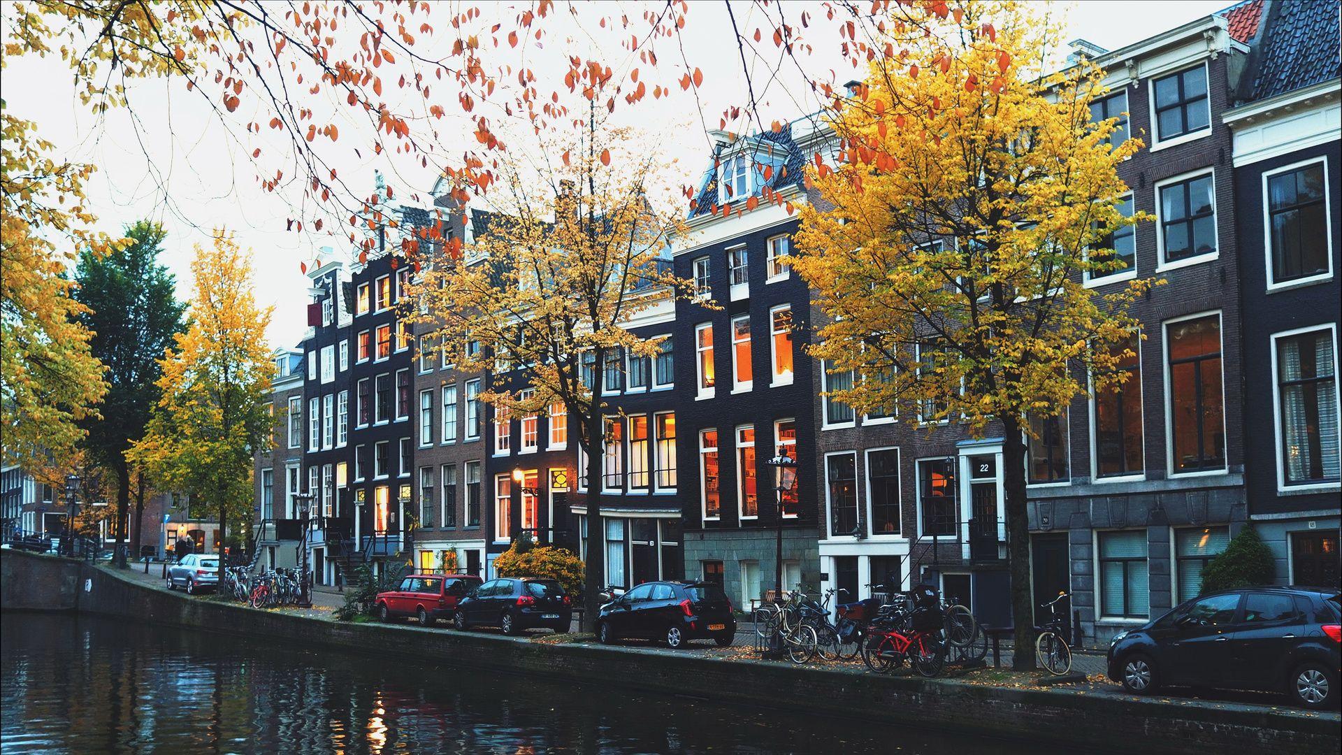 Amsterdam vertical wallpaper hd