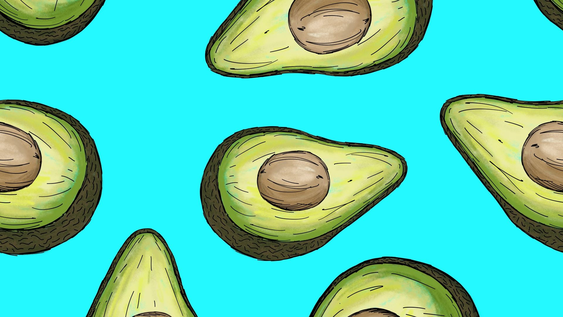 Avocado good wallpaper