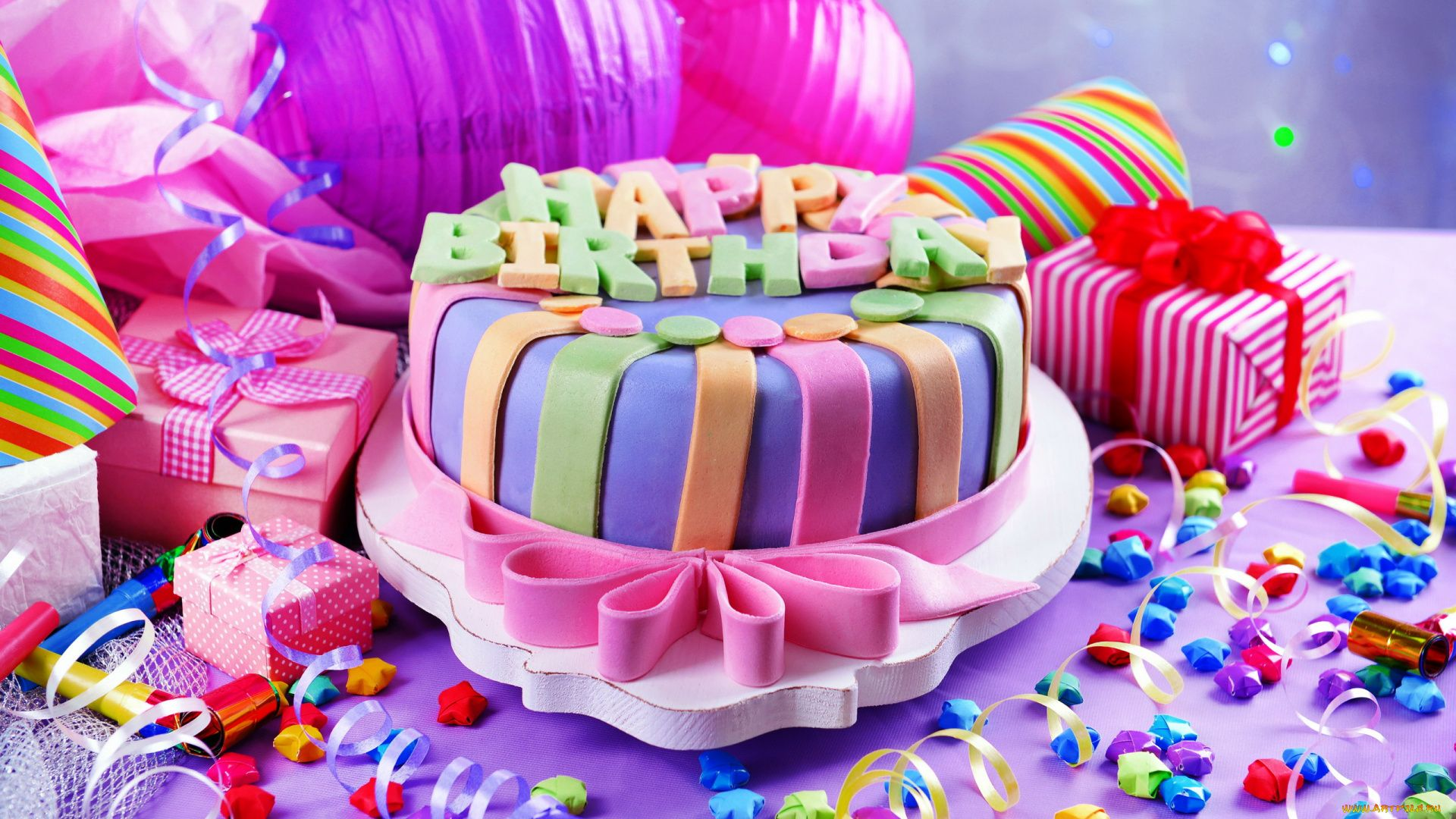 Birthday Cake PC Wallpaper