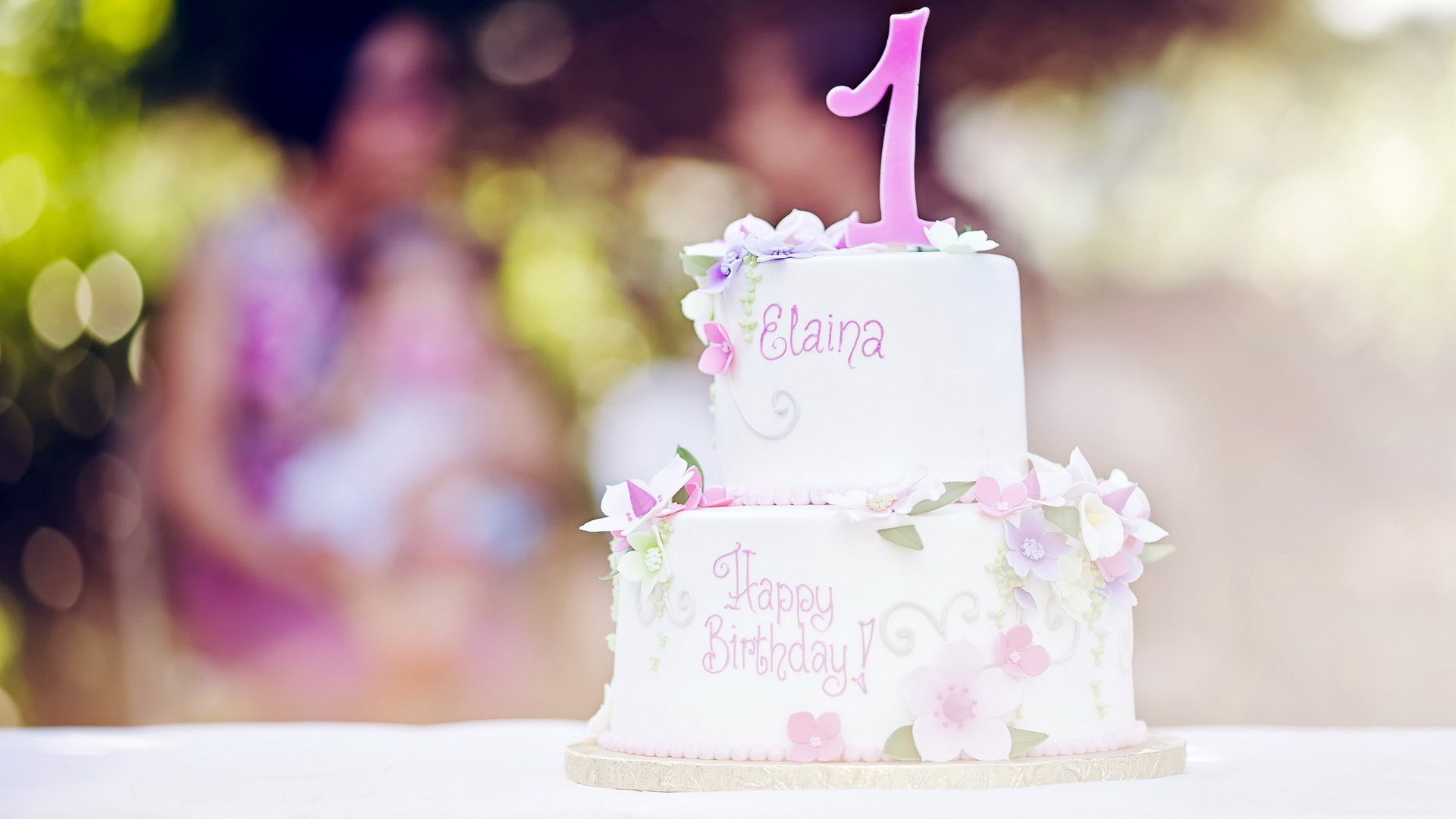 Birthday Cake screen wallpaper