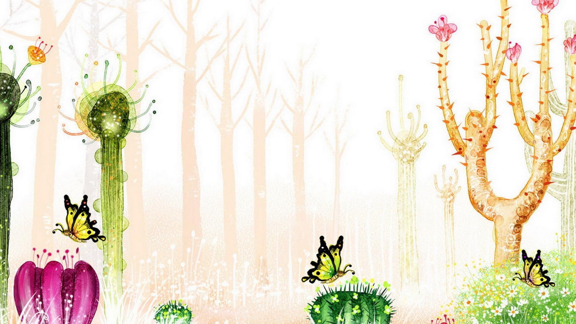 Cactus Desktop Wallpaper