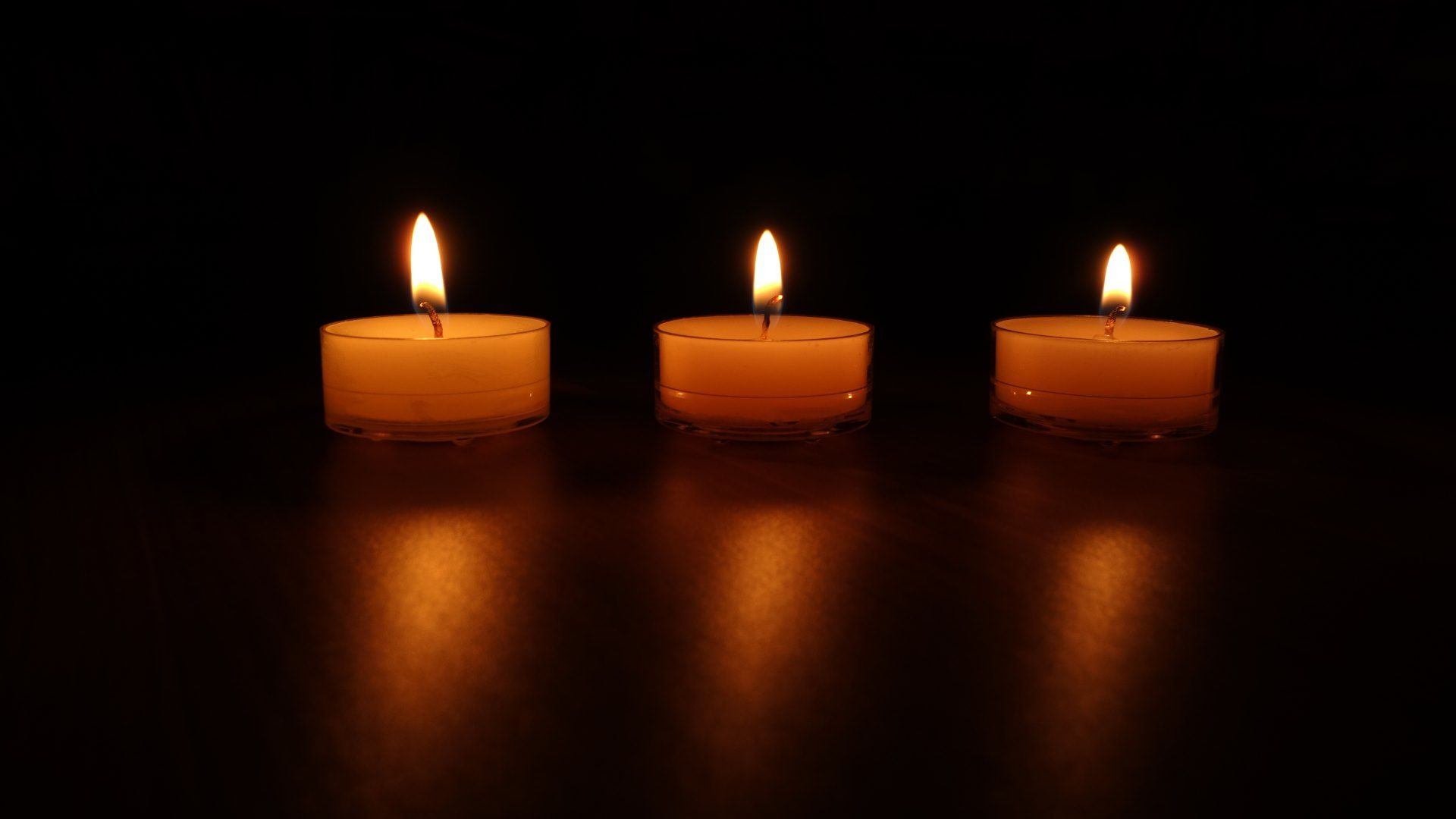 Candle HD Desktop Wallpaper
