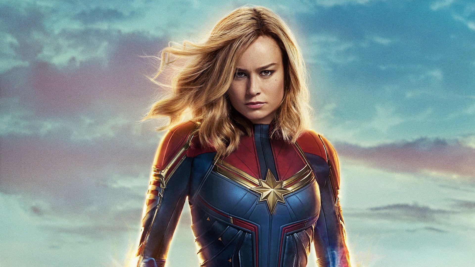 Captain Marvel pc wallpaper