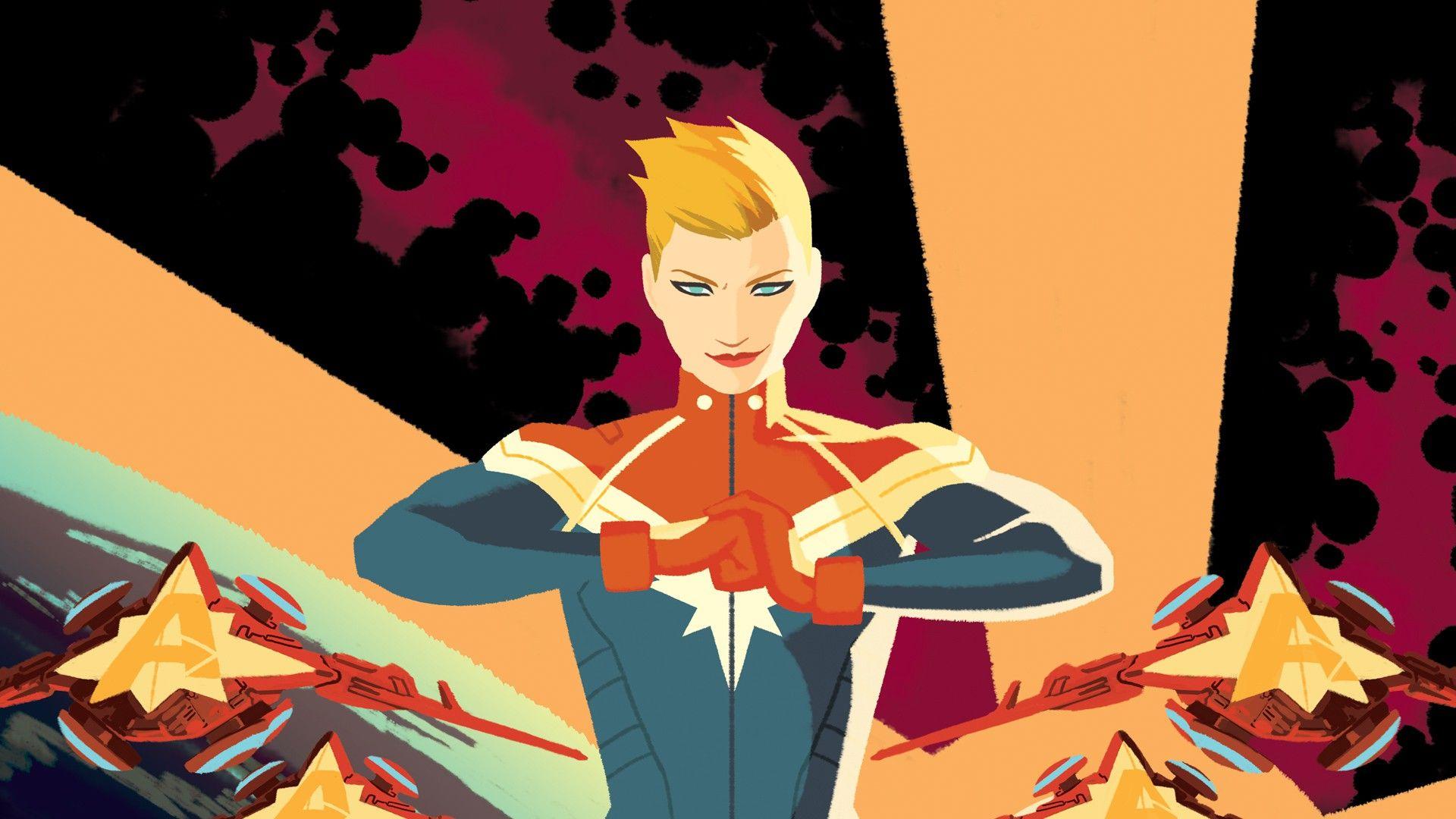 Captain Marvel wallpaper image
