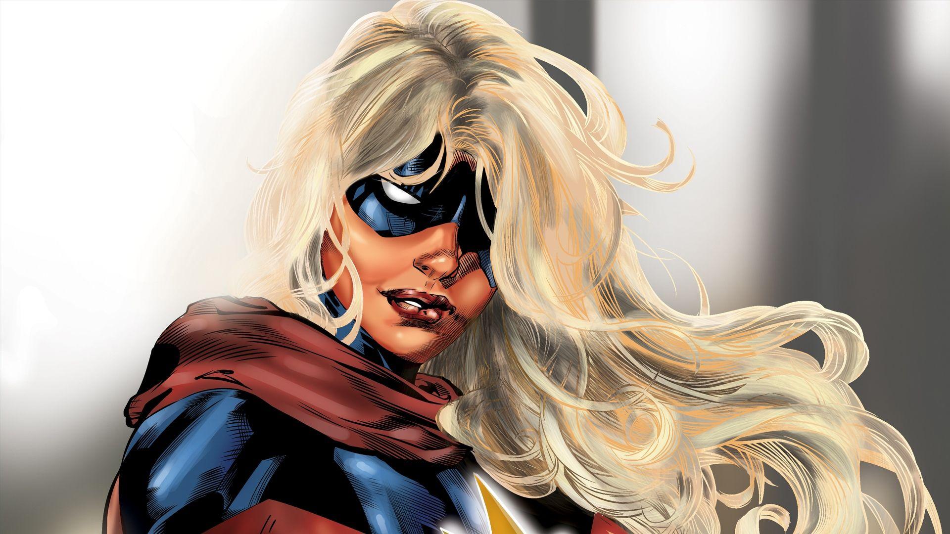 Captain Marvel screen wallpaper