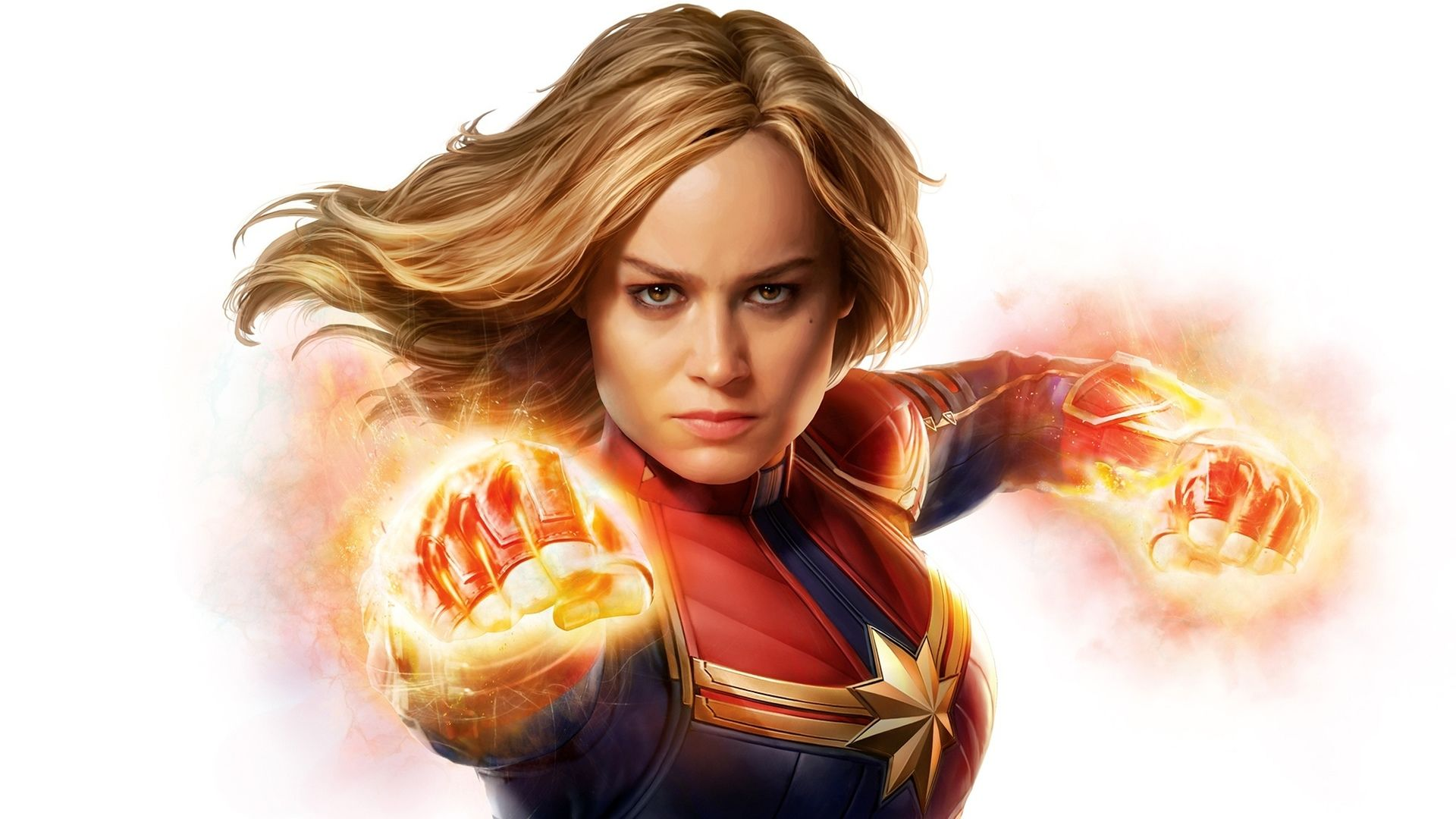 Captain Marvel PC Wallpaper HD