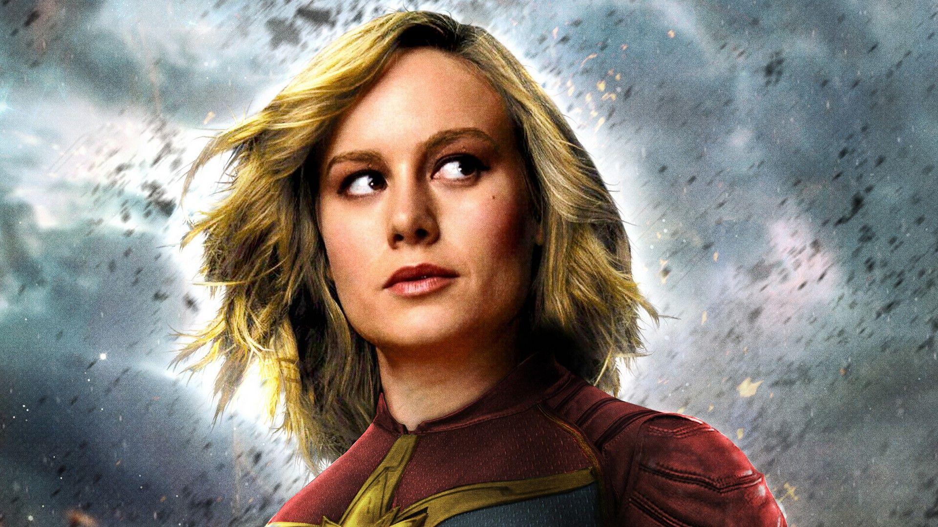 Captain Marvel Nice Wallpaper
