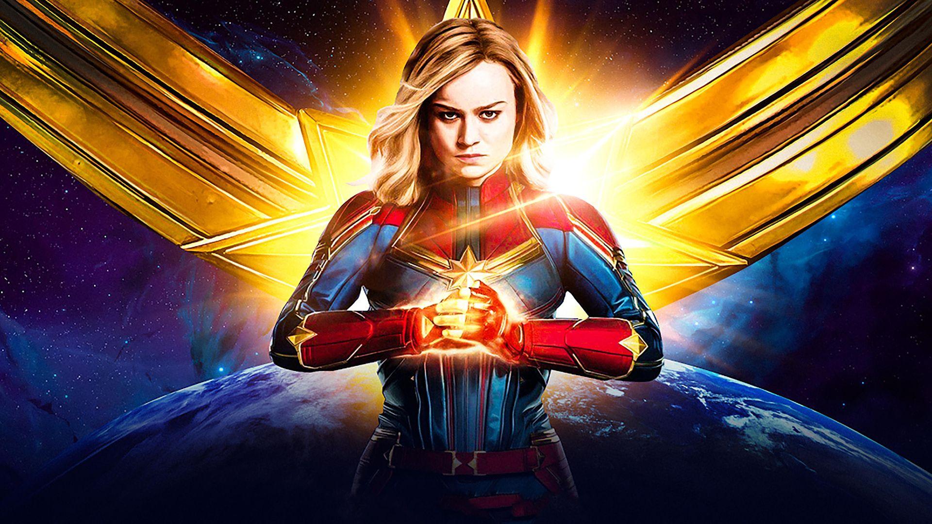 Captain Marvel Cool HD Wallpaper