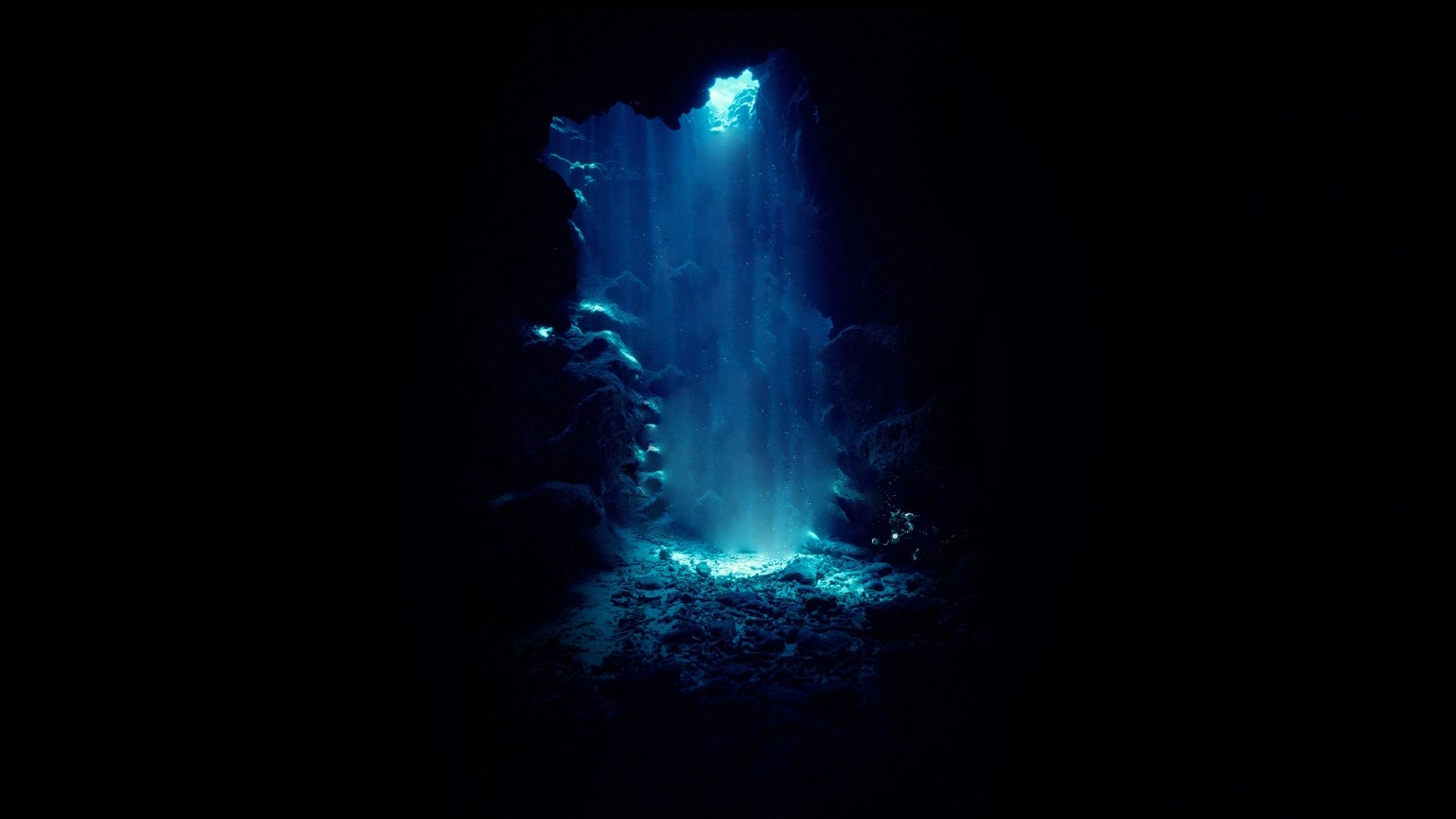 Cave Blue hd wallpaper 1080p for pc