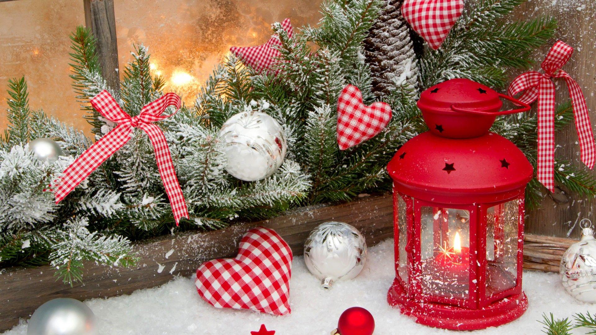 Christmas Decorations desktop wallpaper download