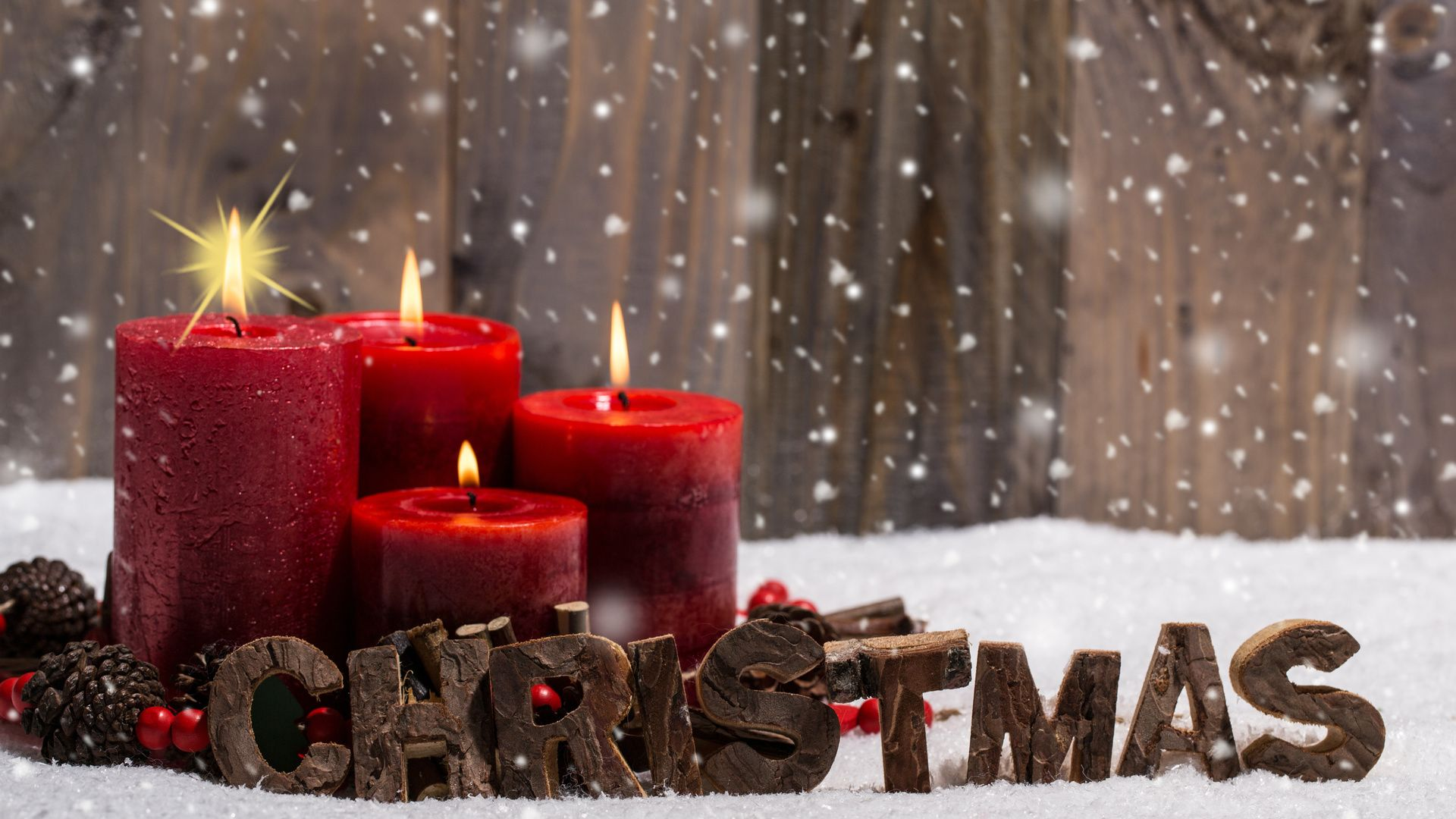 Christmas Holiday Warm Wallpaper and Background