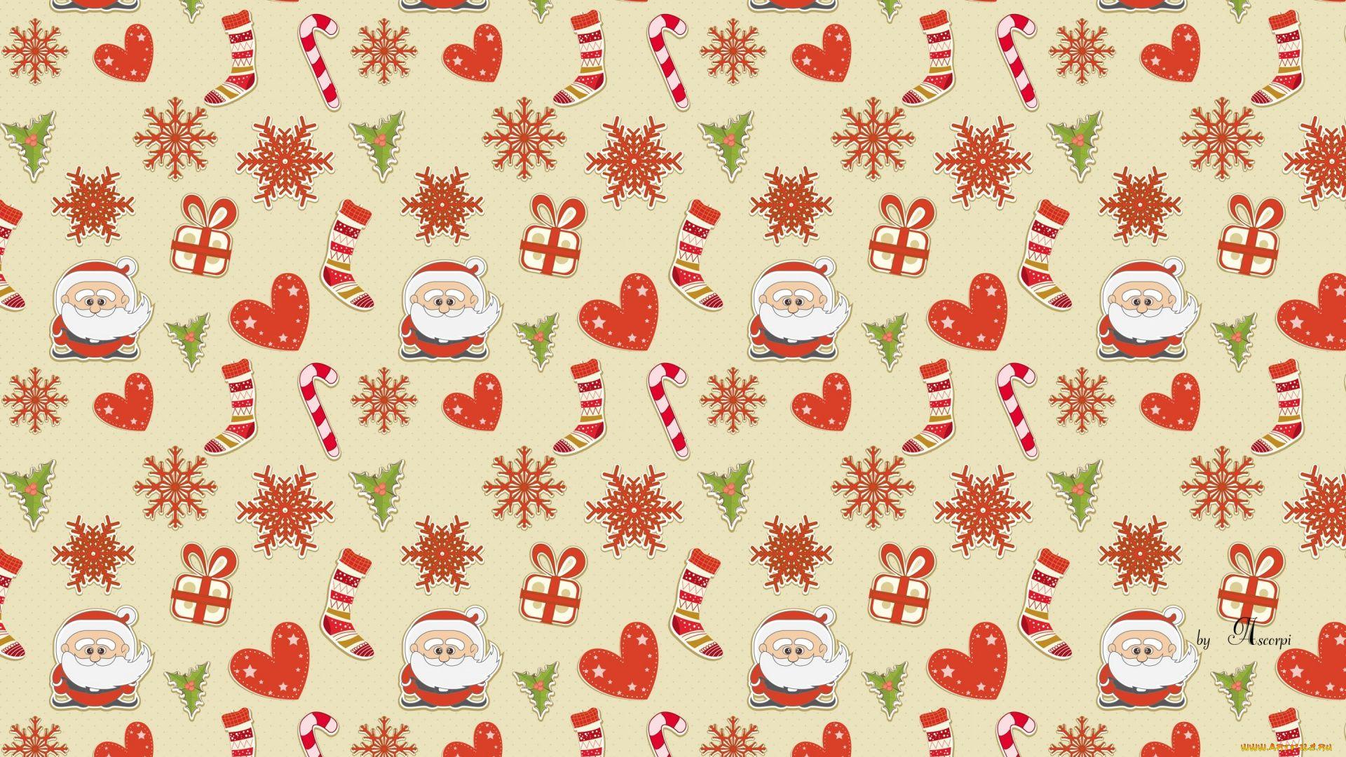 Christmas Scrapbooking full hd wallpaper