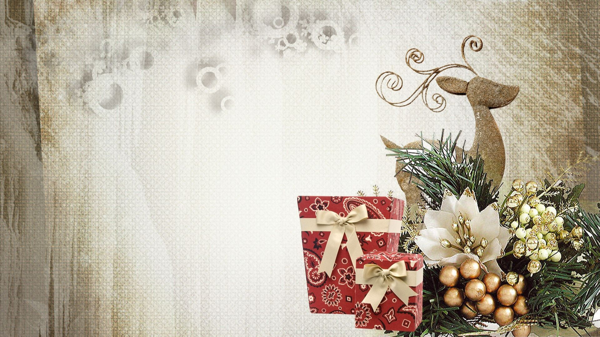Christmas Scrapbooking Free Wallpaper