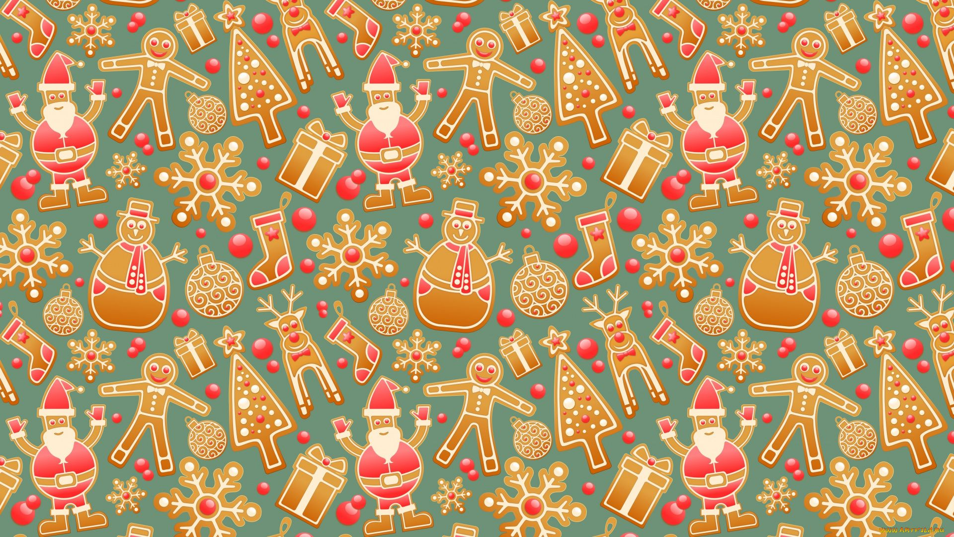 Christmas Scrapbooking Wallpaper Picture