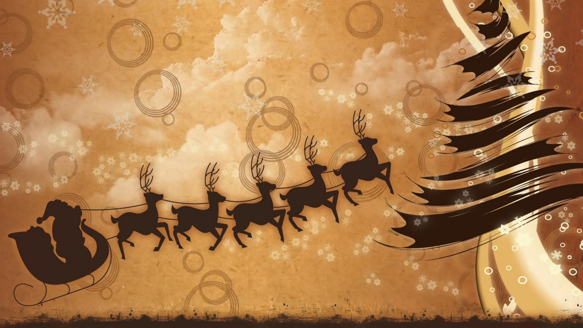 Christmas Sleigh Download Wallpaper