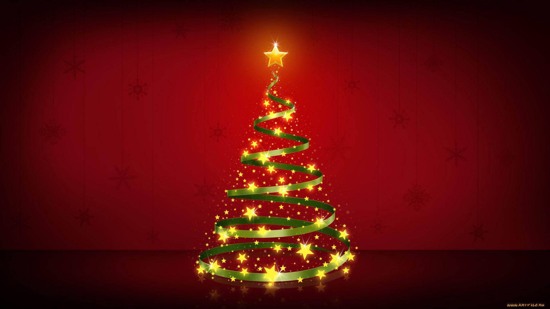 Christmas Tree full hd 1080p wallpaper