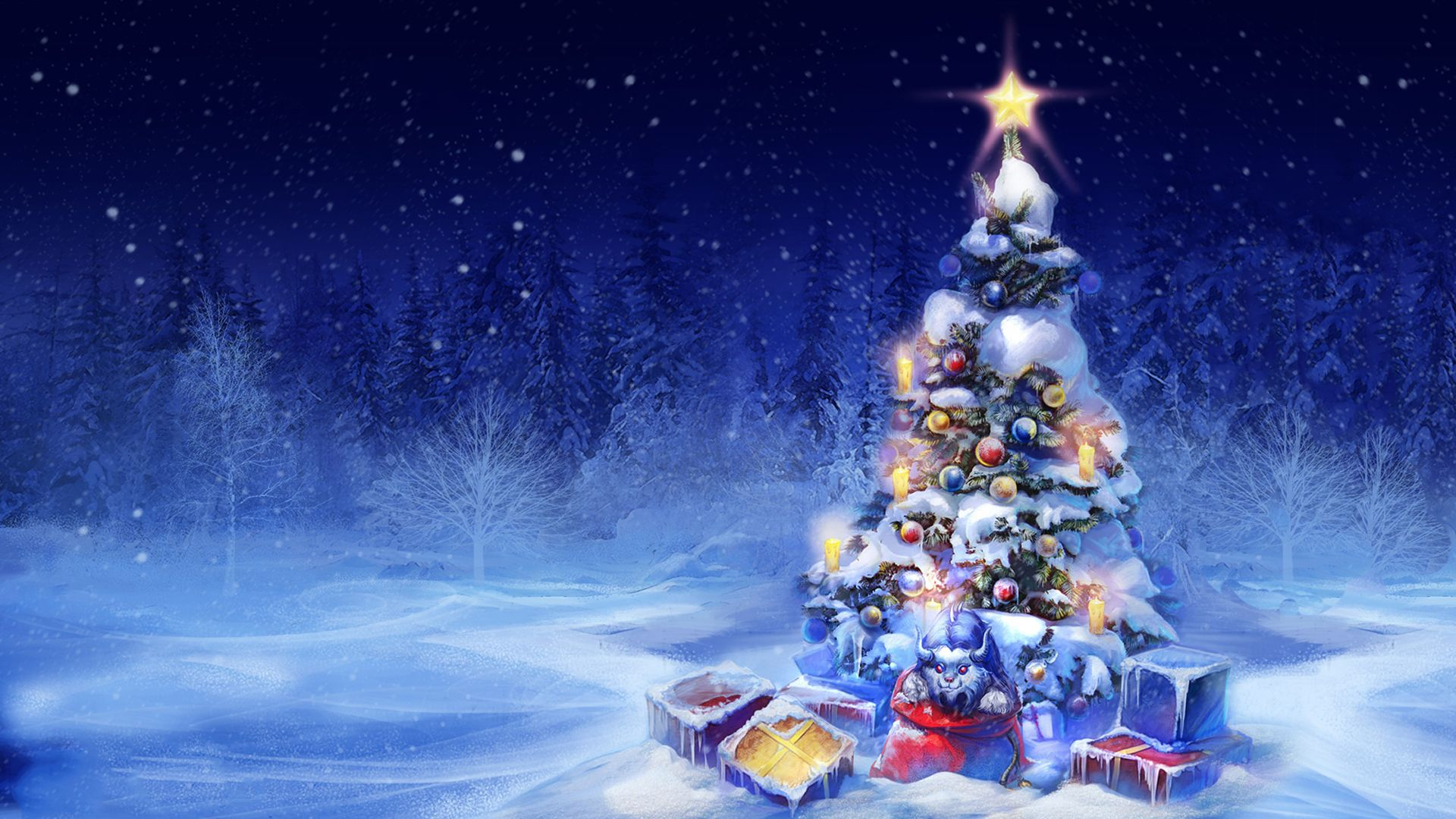 Christmas Tree Good Wallpaper