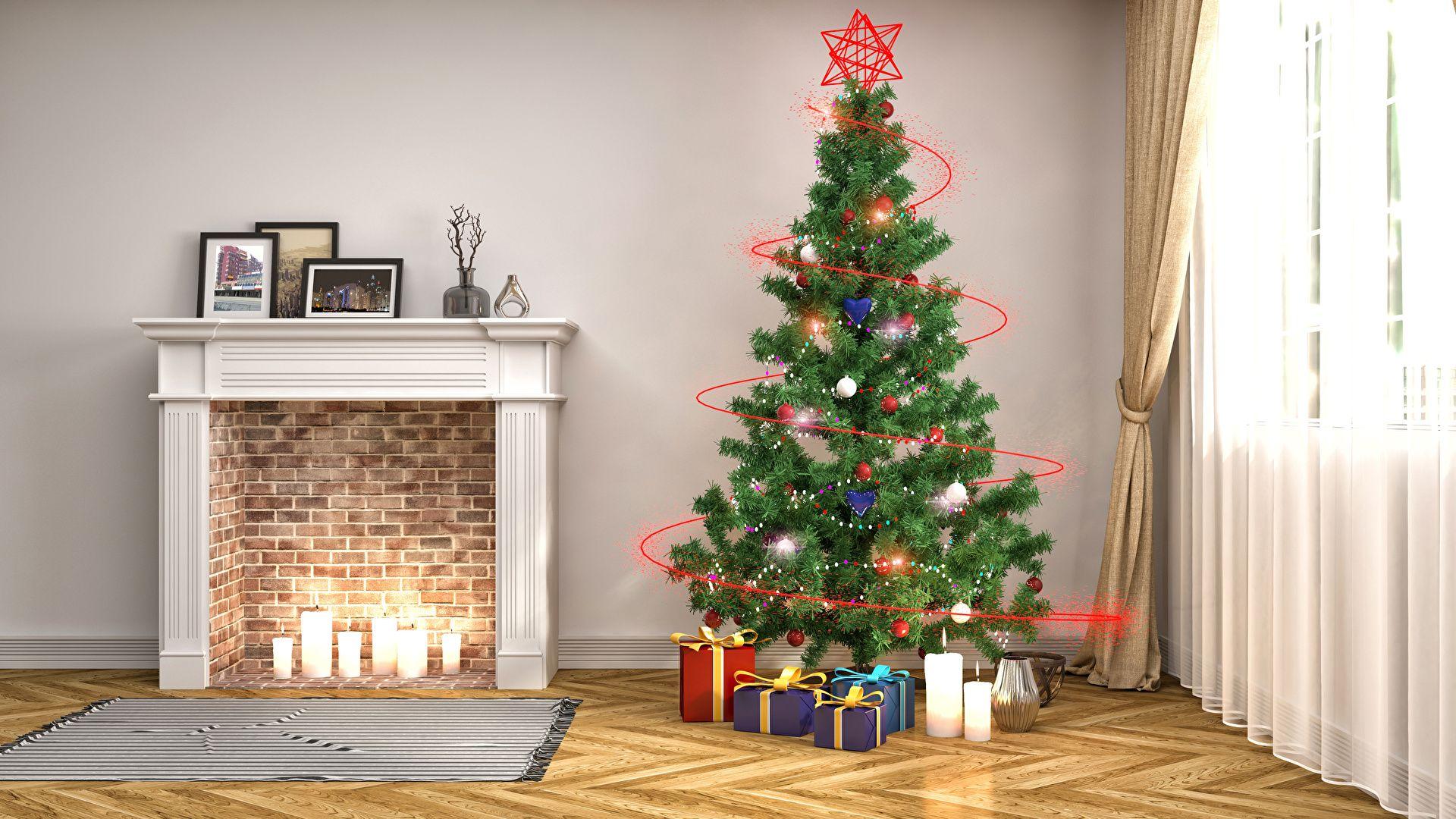 Christmas Tree computer Wallpaper