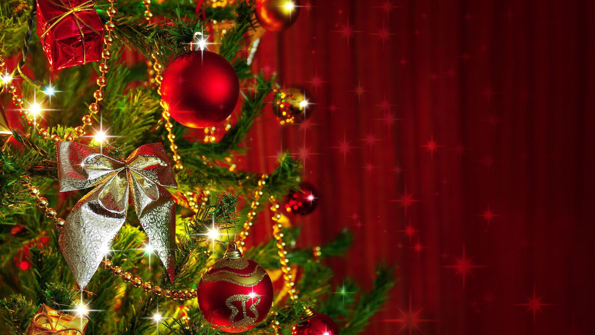 Christmas Tree screen wallpaper