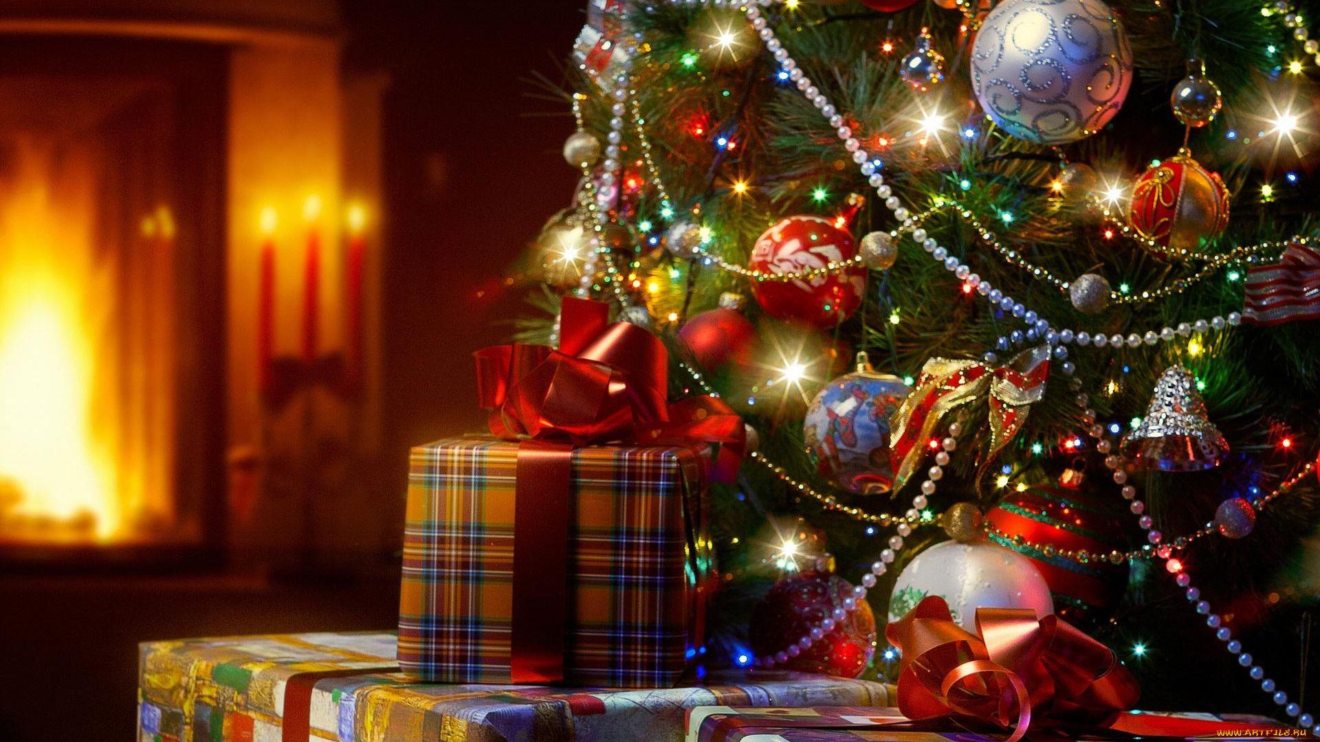 Christmas Tree wallpaper image hd
