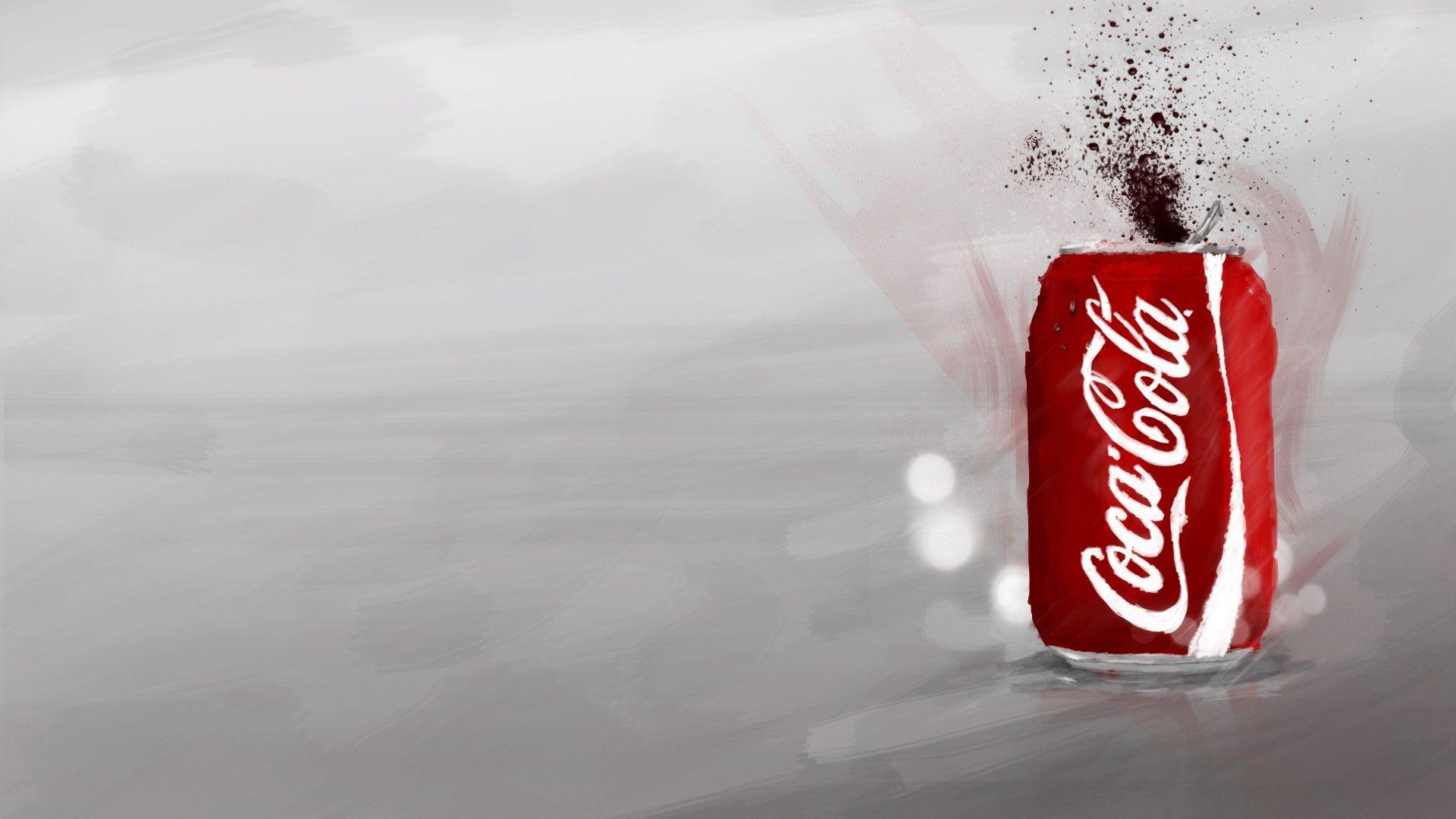 Coca Cola background wallpaper
