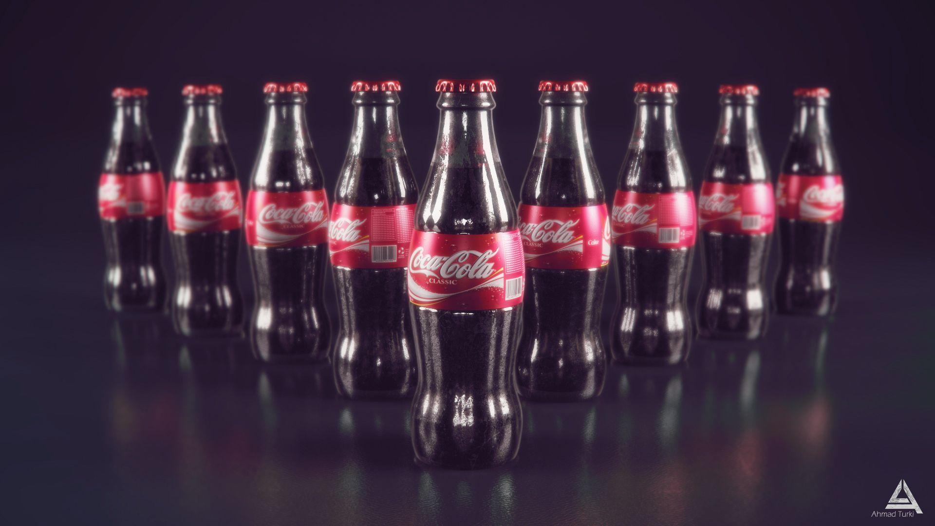 Coca Cola screen wallpaper