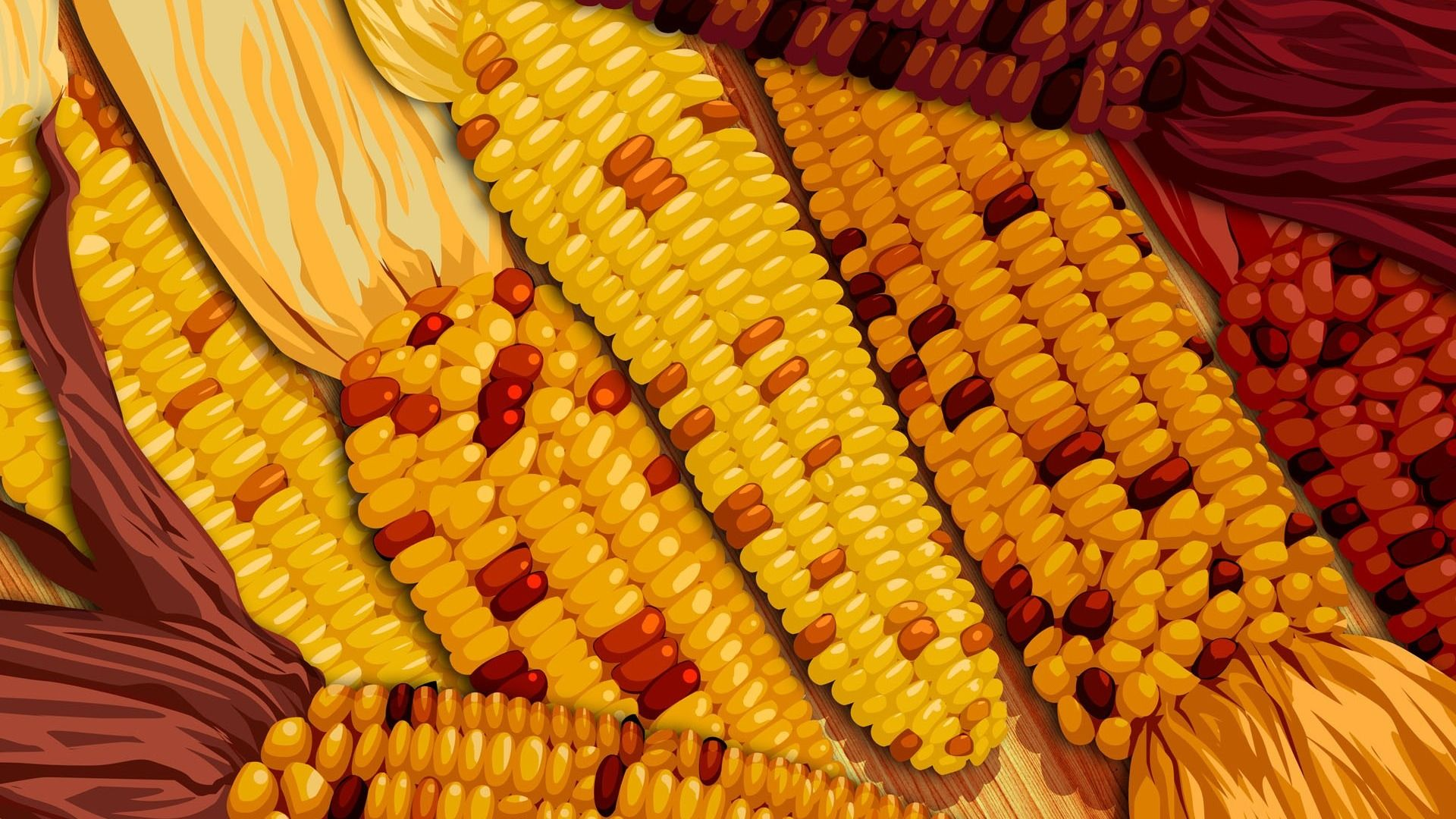 Corn 1080p Wallpaper