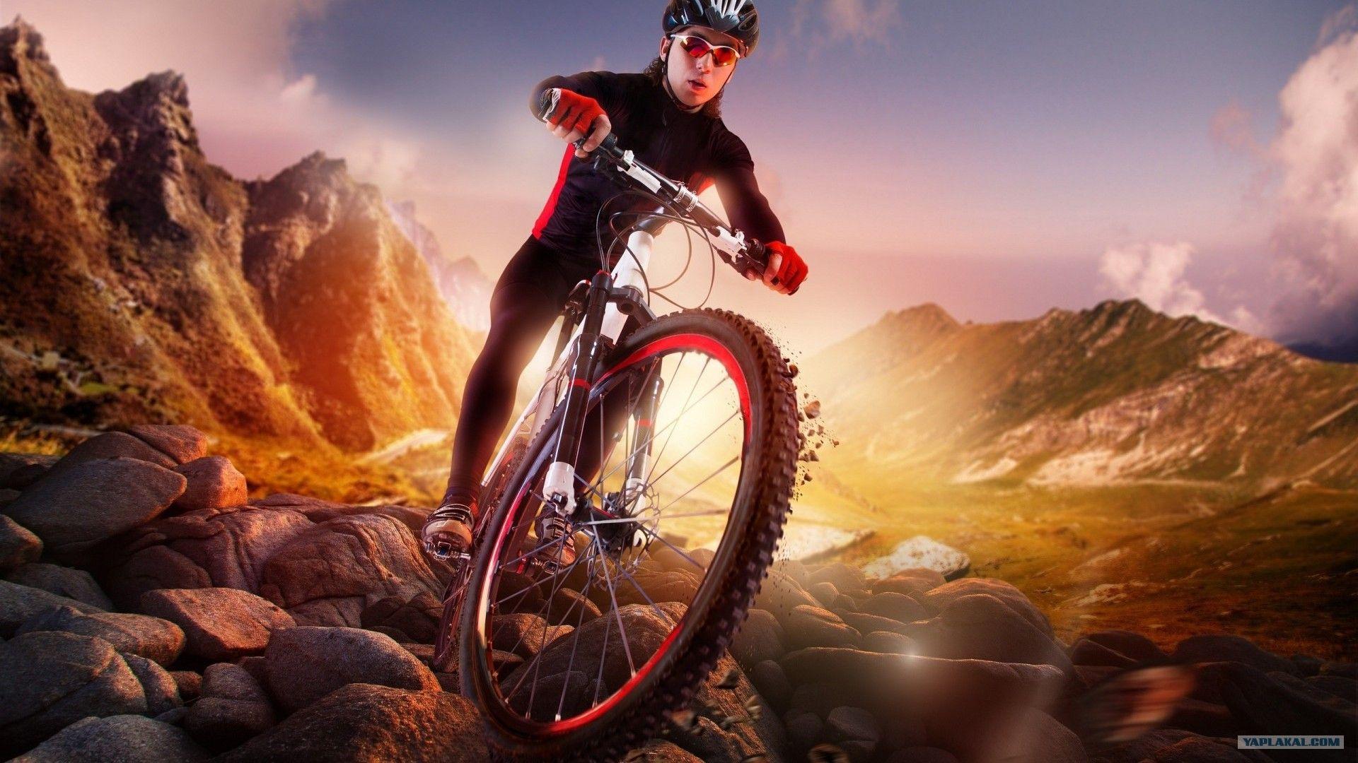 Cycling Nice Wallpaper