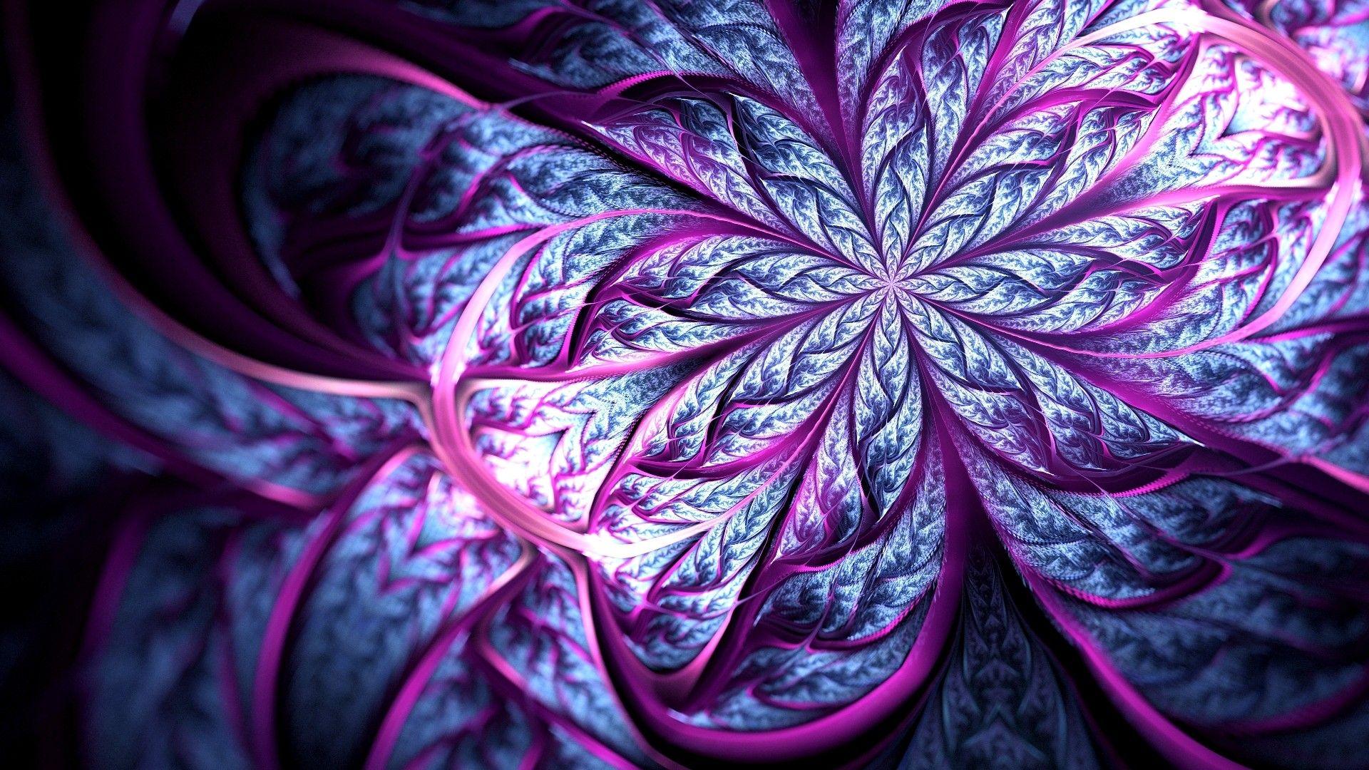 Fractal Flower Cool Wallpaper