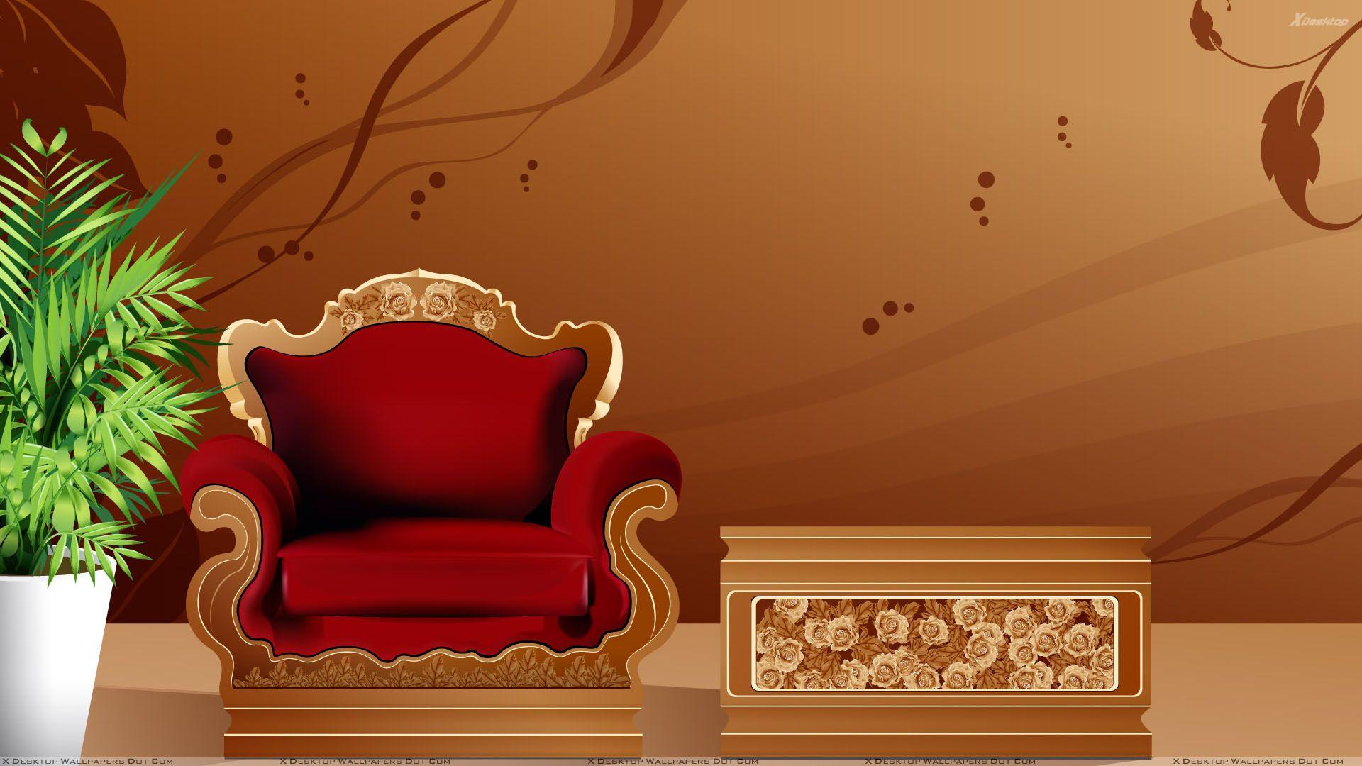 Furniture wallpaper photo