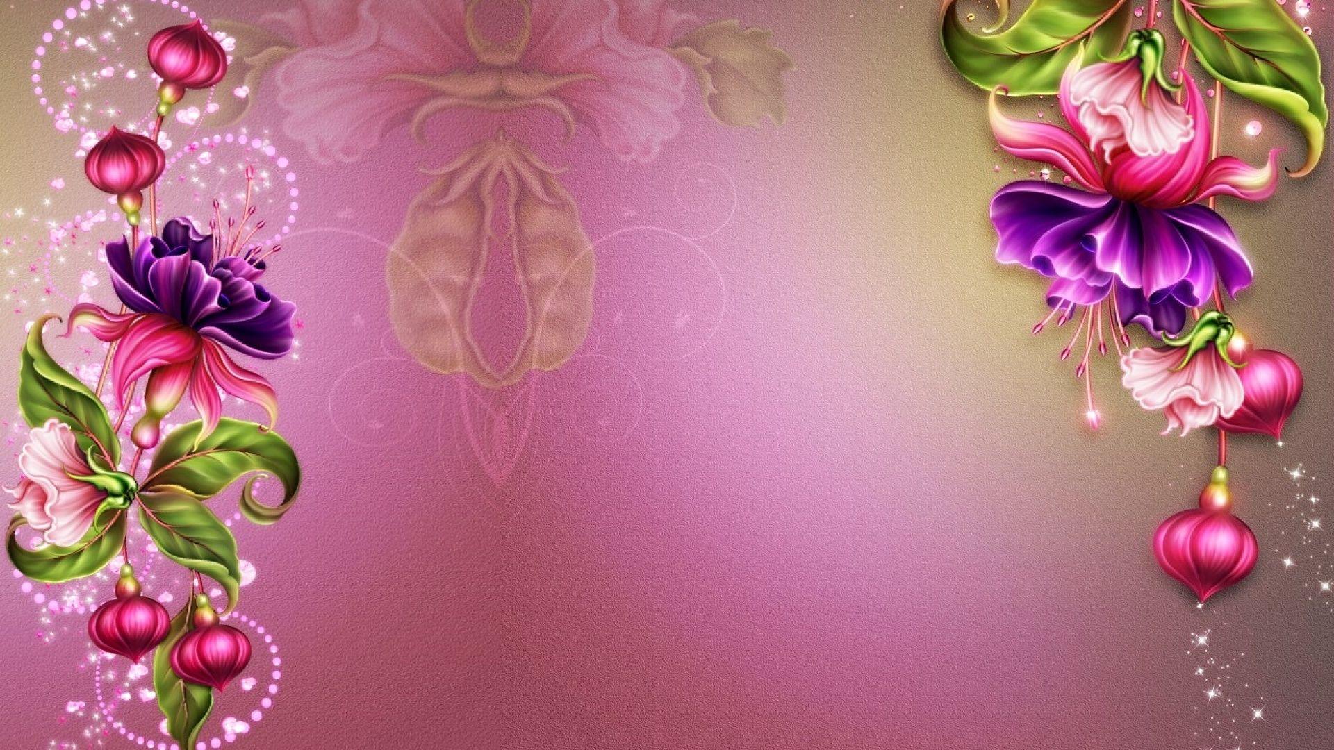 Fuschia pc wallpaper