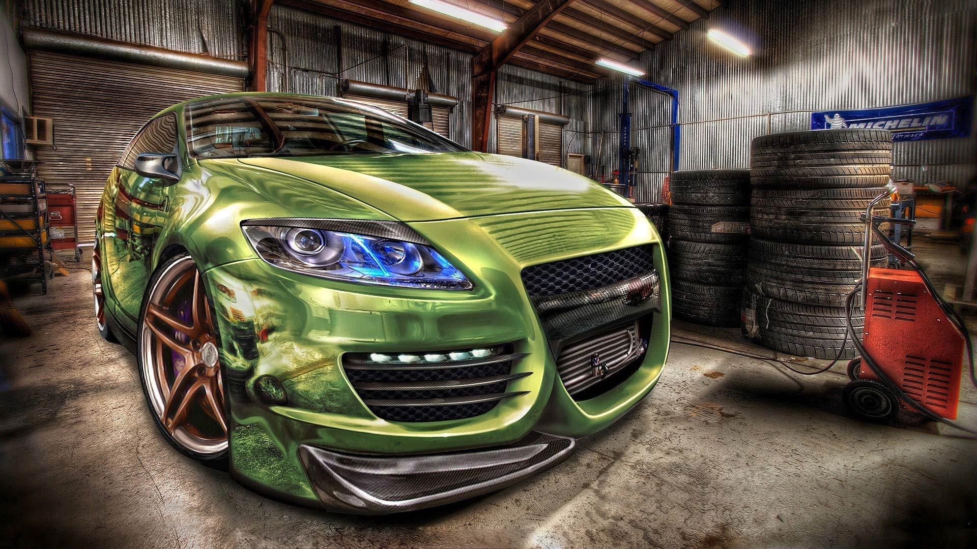 Garage hd wallpaper 1080