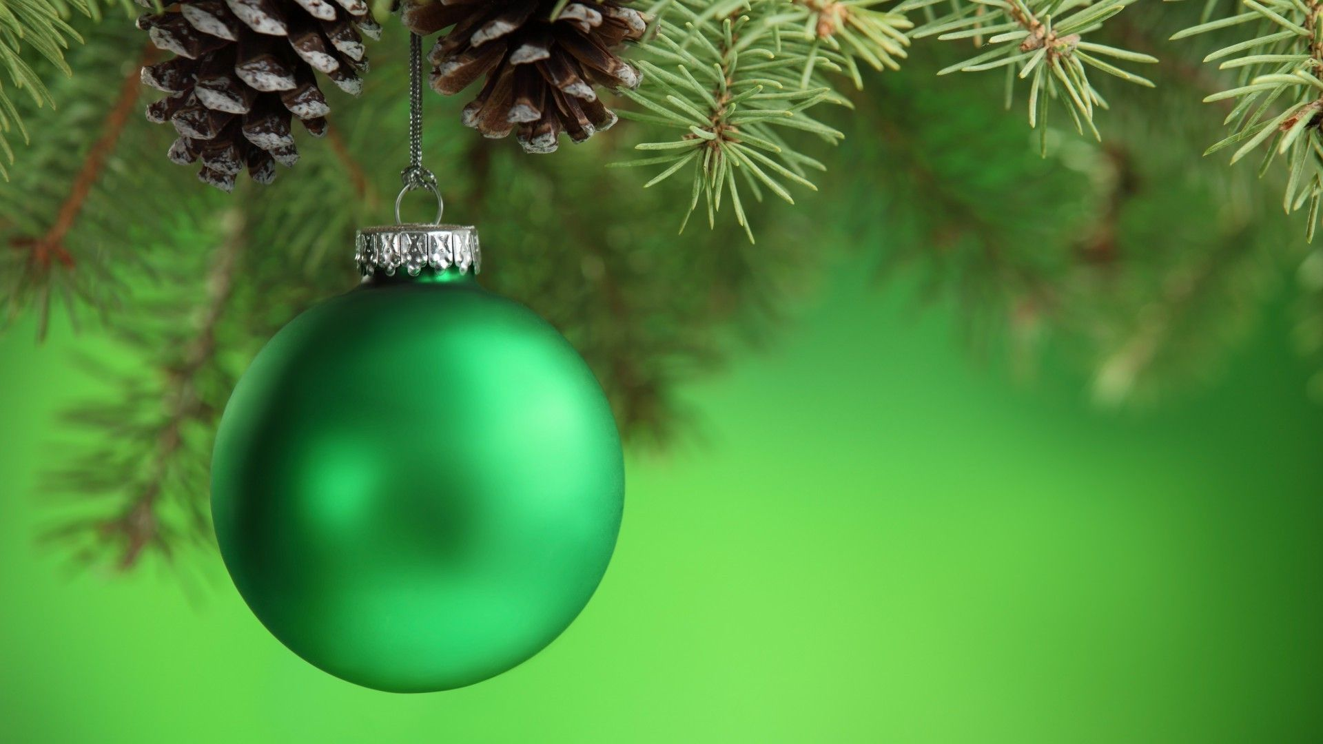 Green Christmas Good Wallpaper