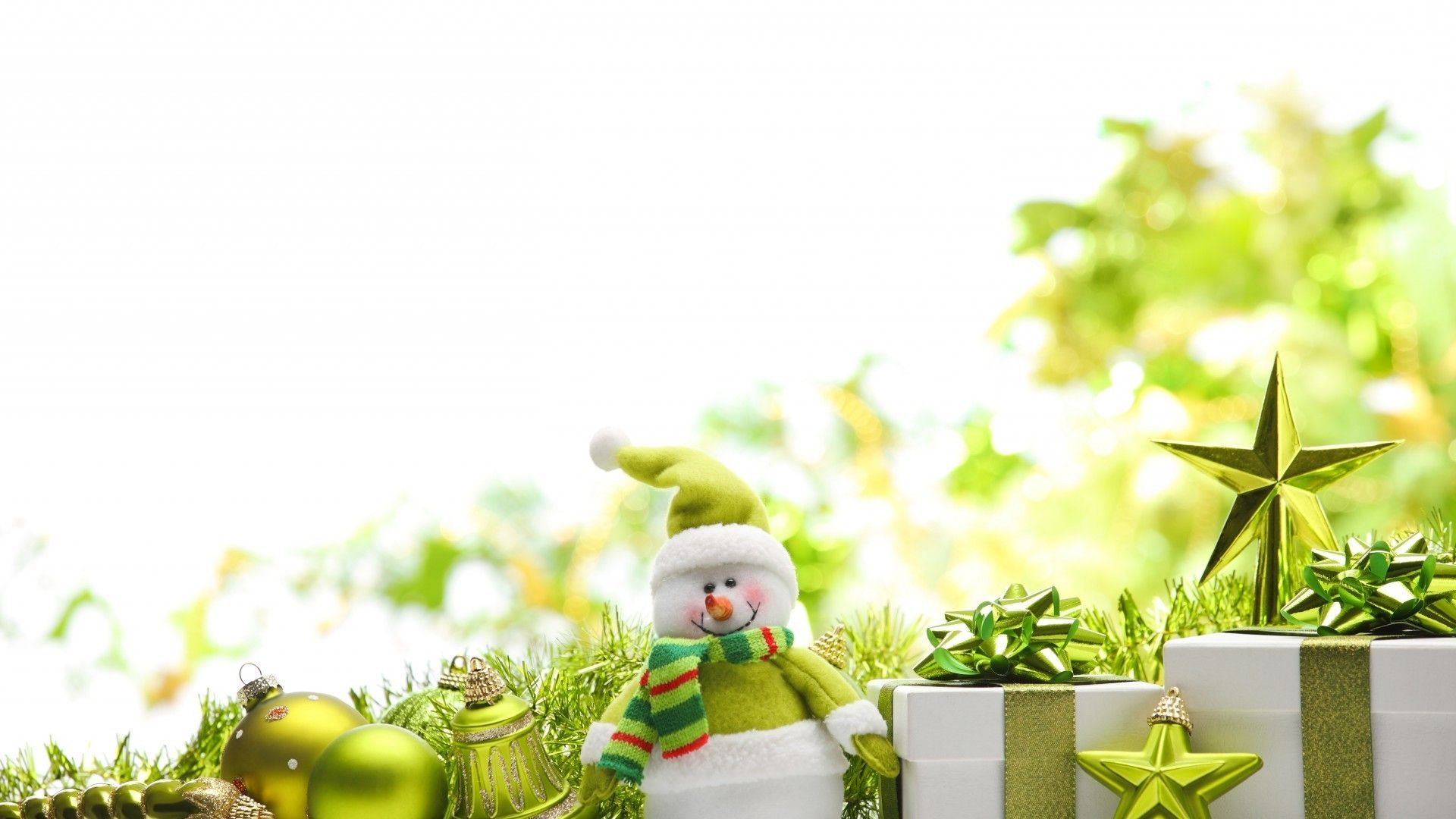 Green Christmas new wallpaper