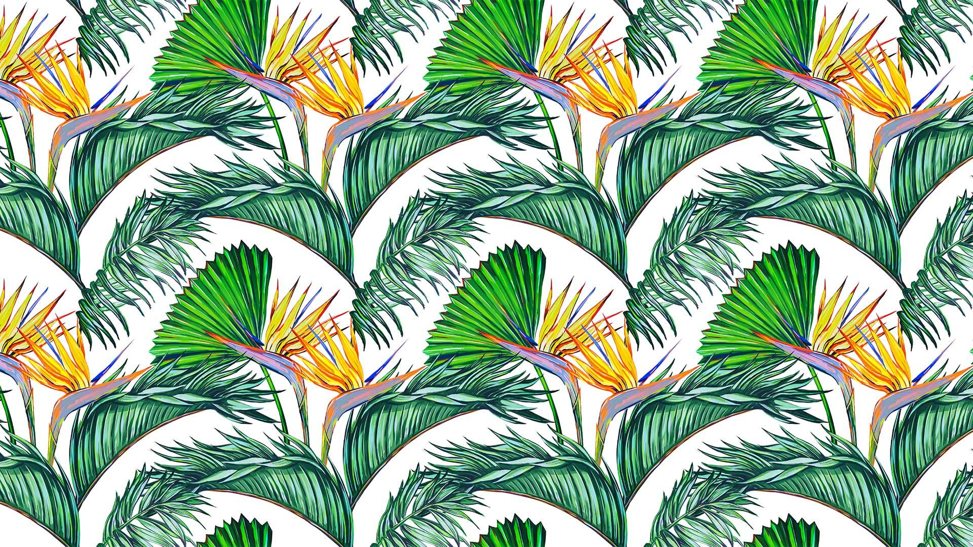 Leaf Pattern best Wallpaper