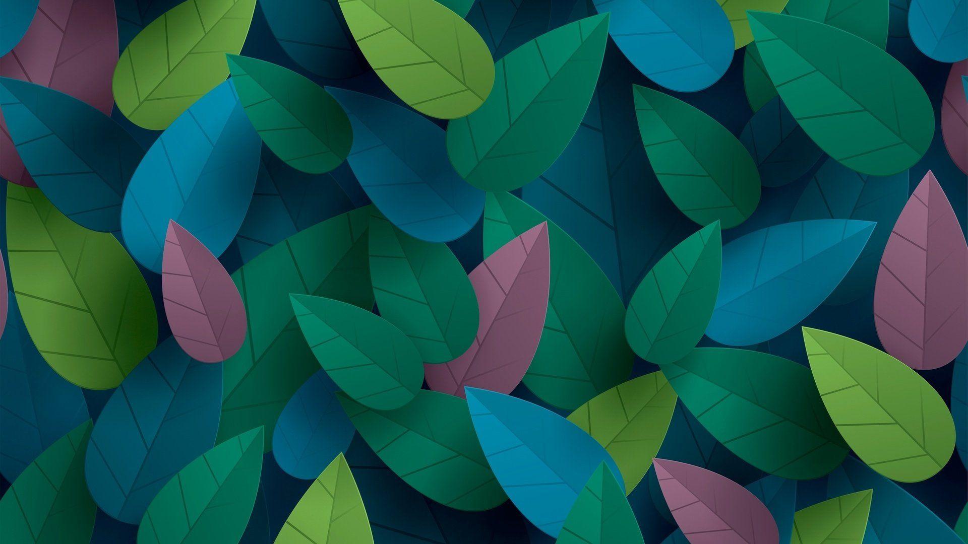 Leaf Pattern Image