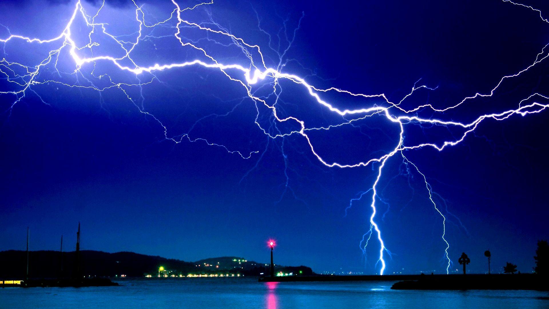 Lightning Bolt laptop wallpaper