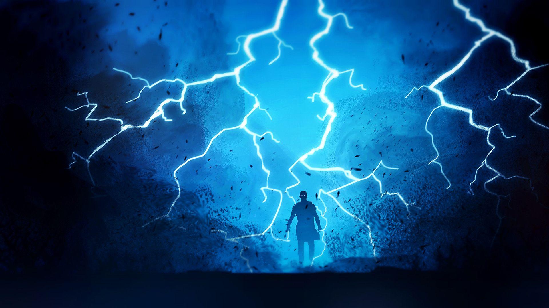 24 Lightning Bolt Wallpapers Wallpaperboat