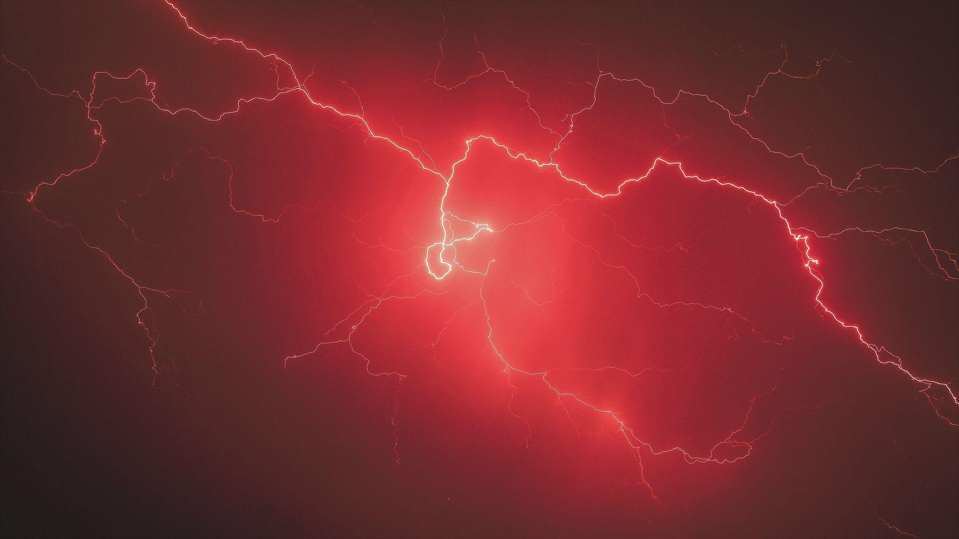 Lightning Bolt Desktop Wallpaper