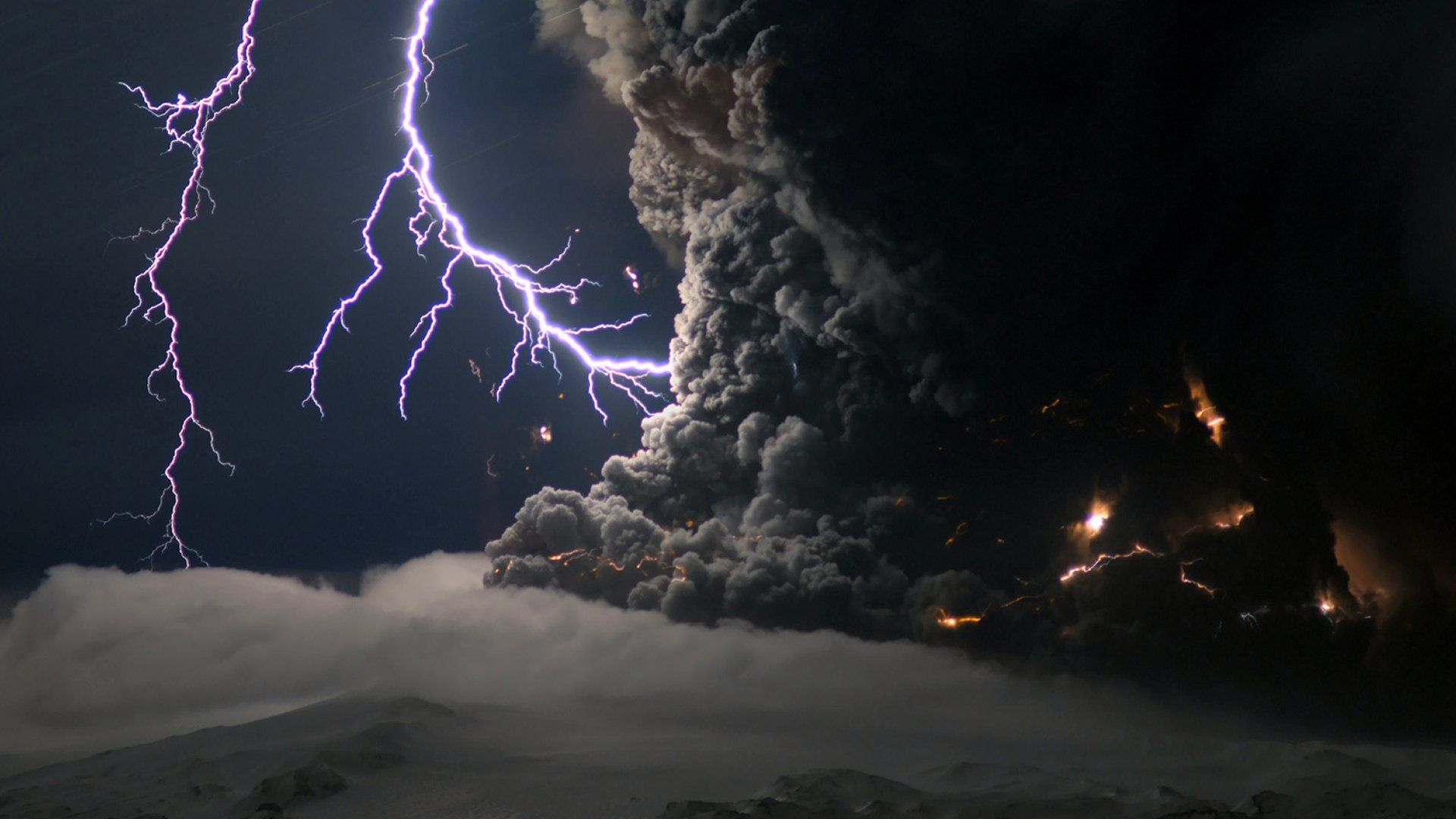 Lightning Bolt screen wallpaper