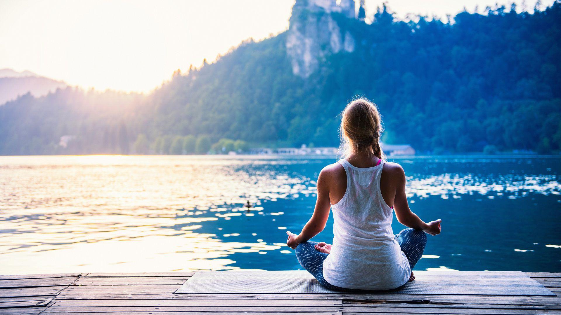 Meditation Wallpaper Image