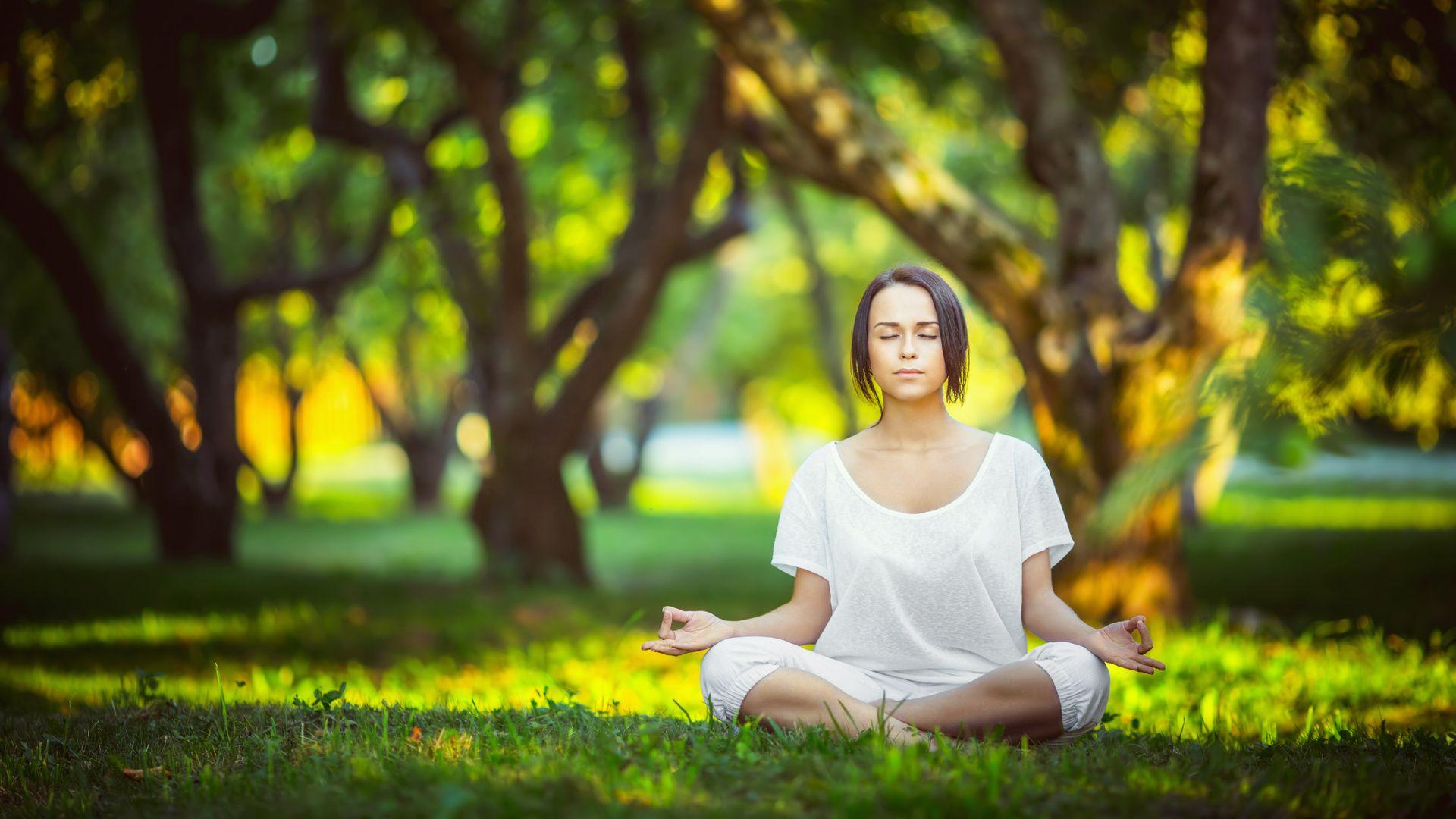 Meditation wallpaper image hd