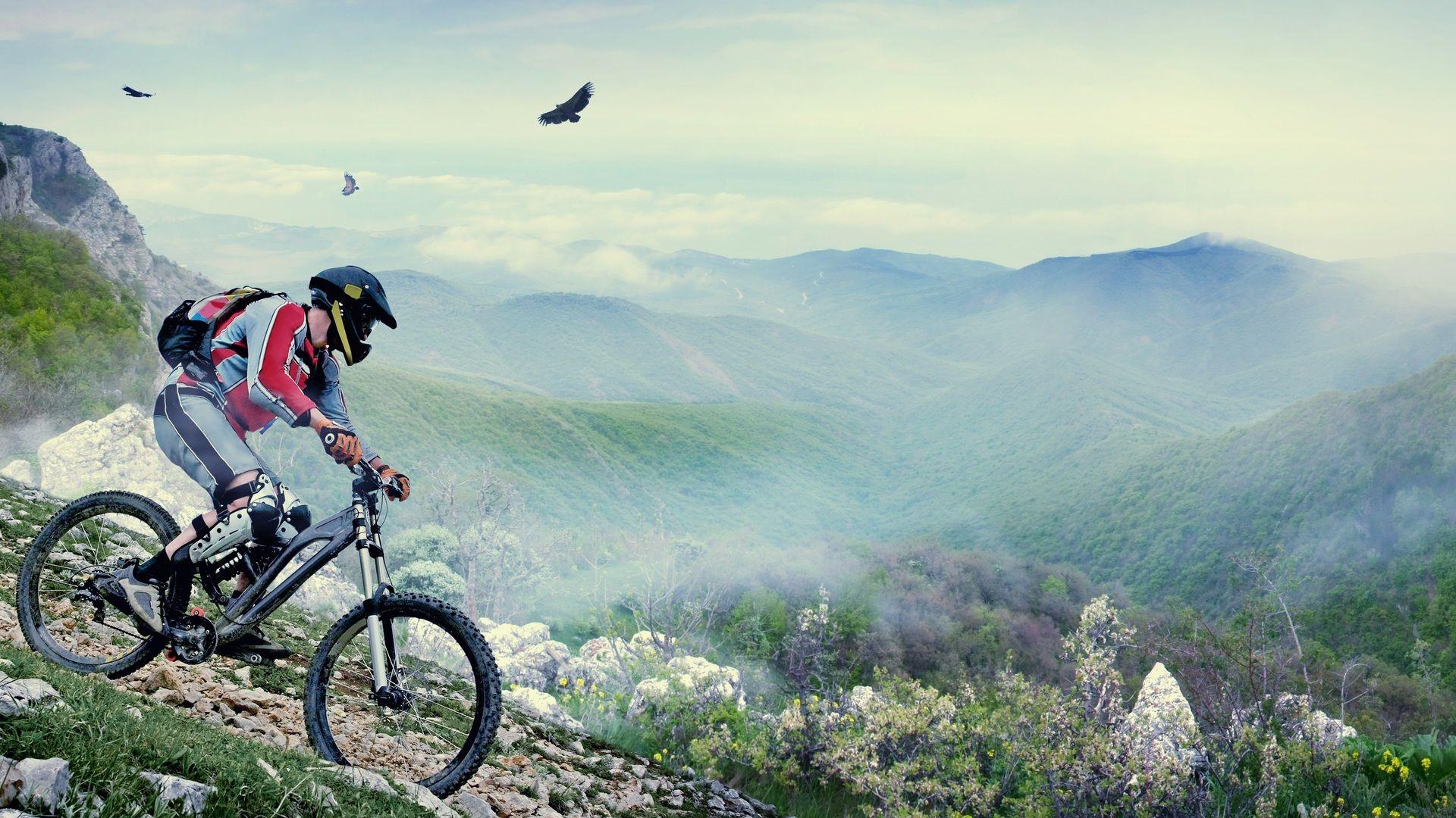 Mountain Bike full hd wallpaper