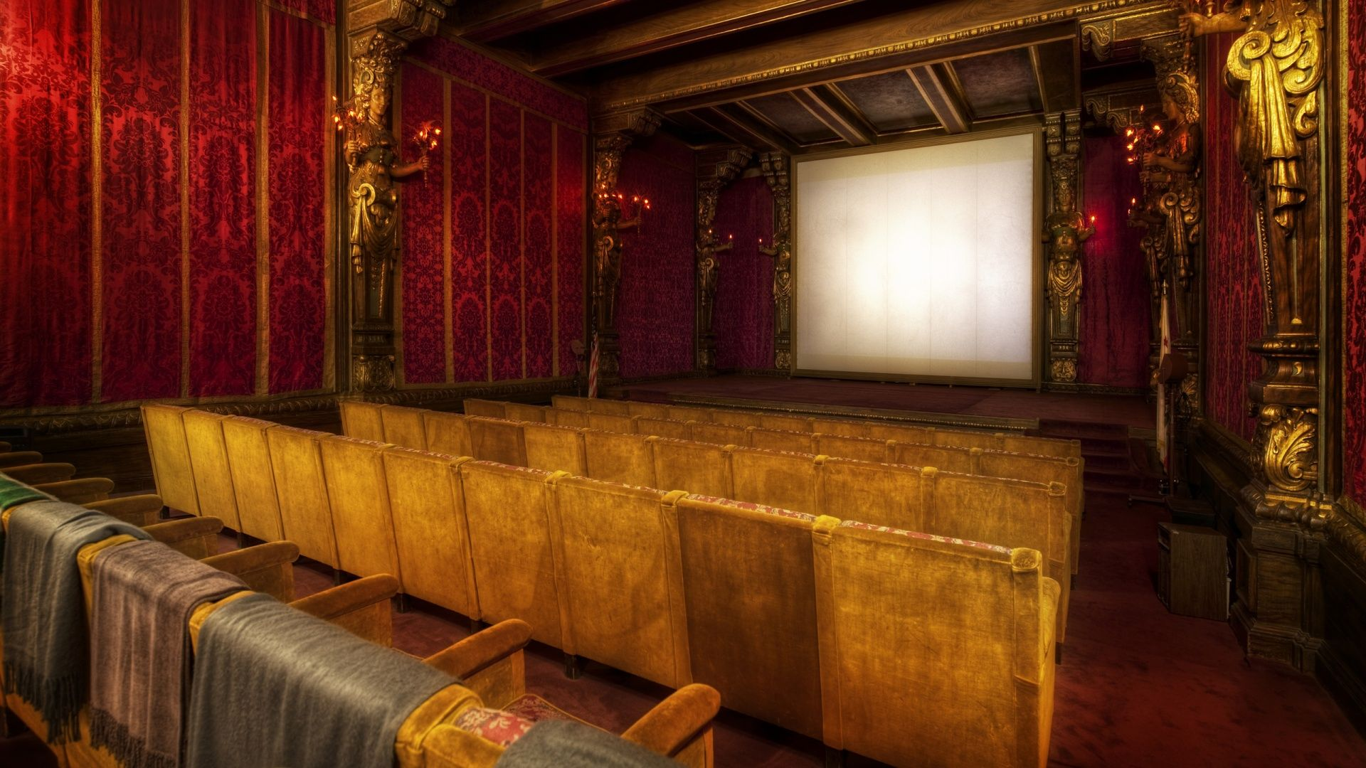 Movie Theater Cool HD Wallpaper