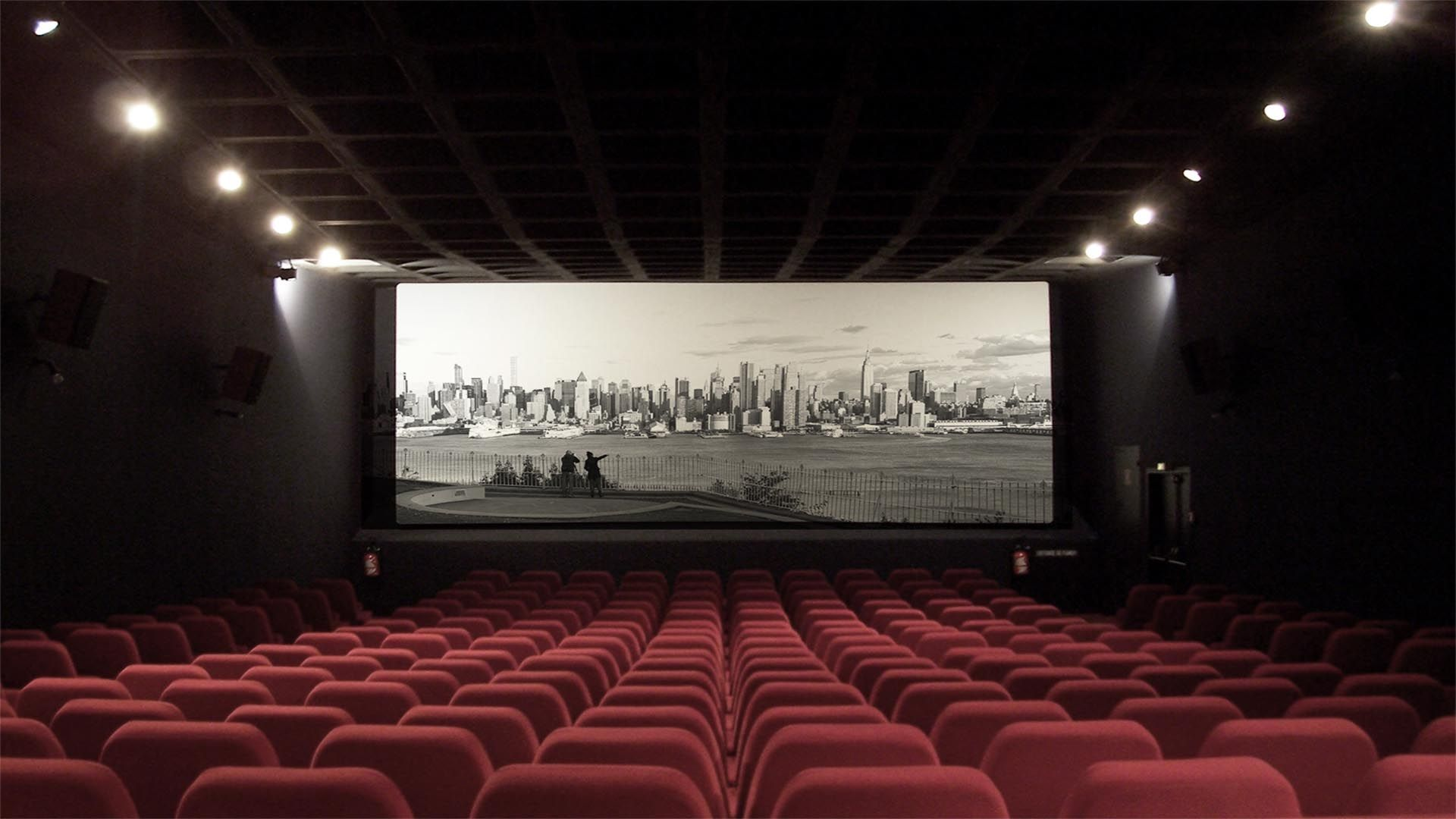 Movie Theater a wallpaper