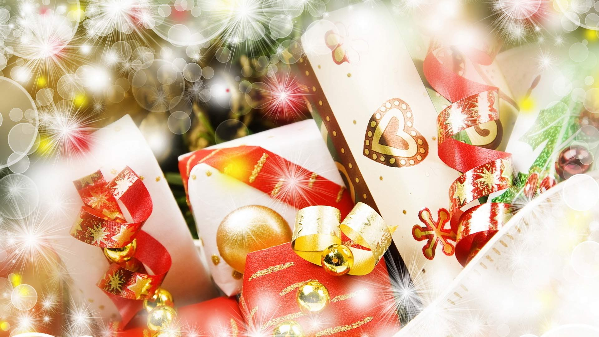 New Year Gifts Free Download Wallpaper